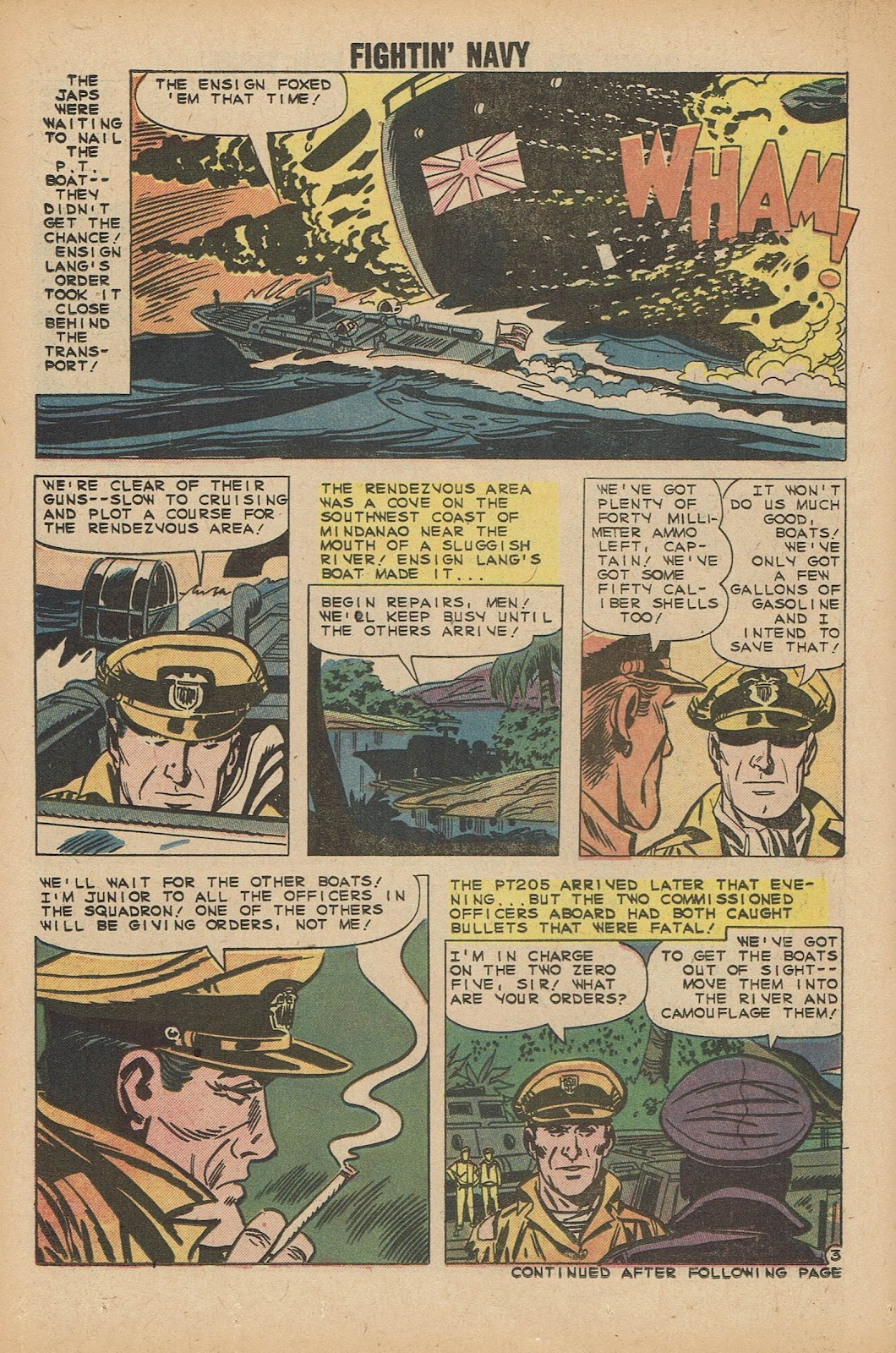 Read online Fightin' Navy comic -  Issue #92 - 14
