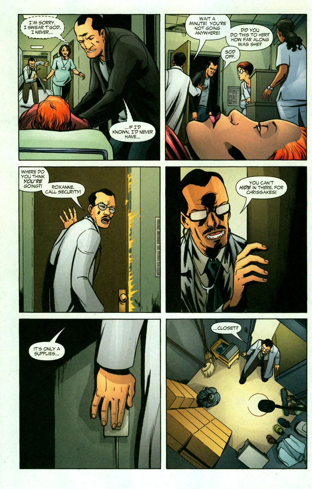 Read online Fallen Angel (2003) comic -  Issue #18 - 6