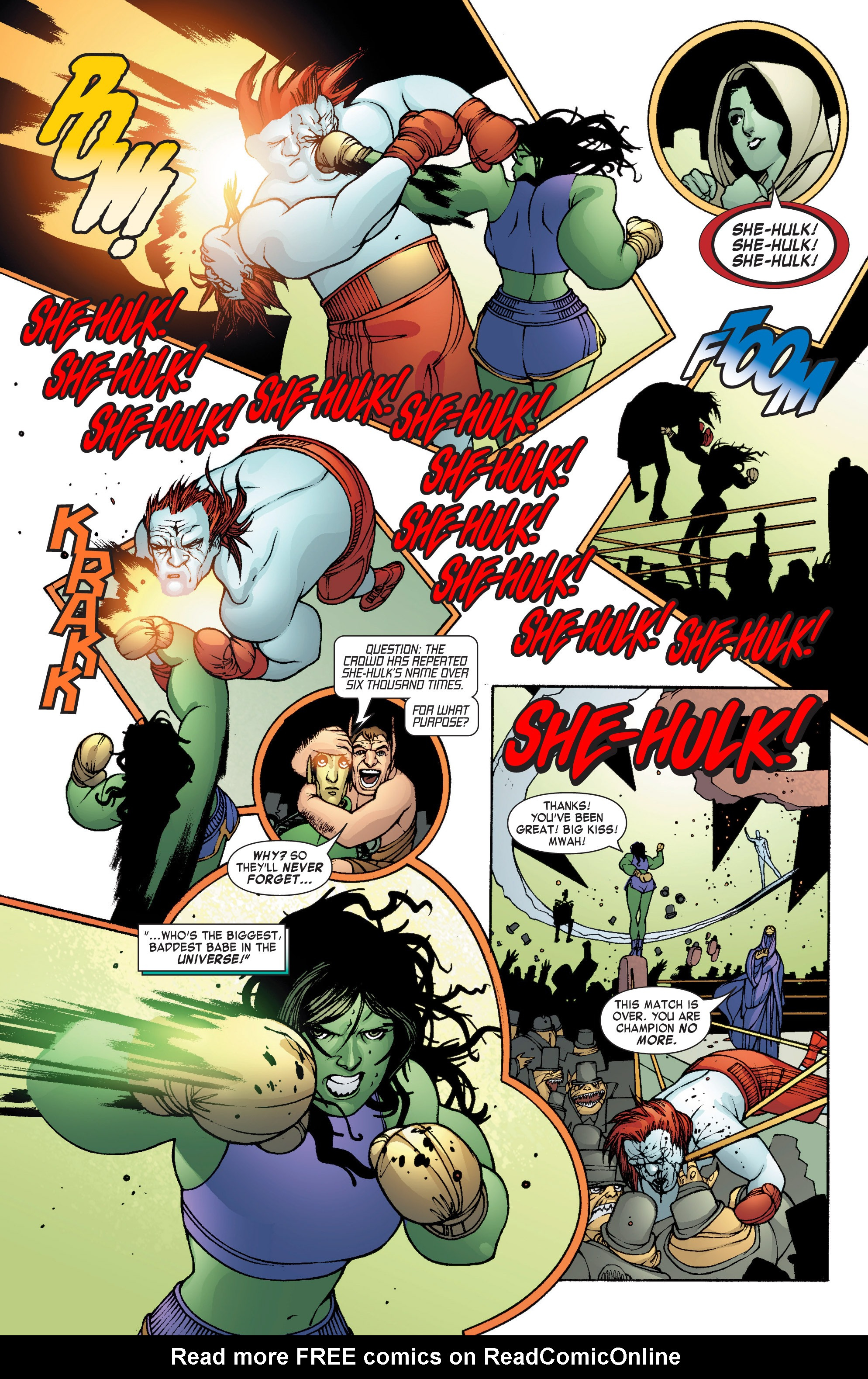 Read online She-Hulk (2004) comic -  Issue #8 - 22