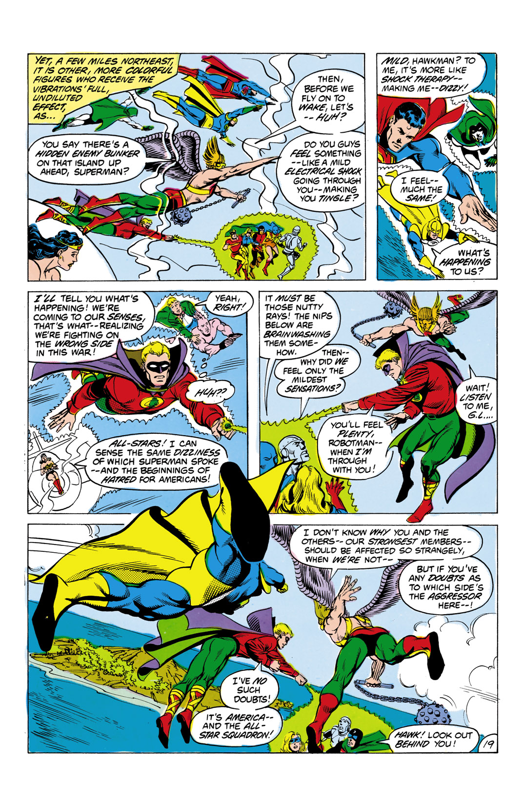 Read online All-Star Squadron comic -  Issue #4 - 20