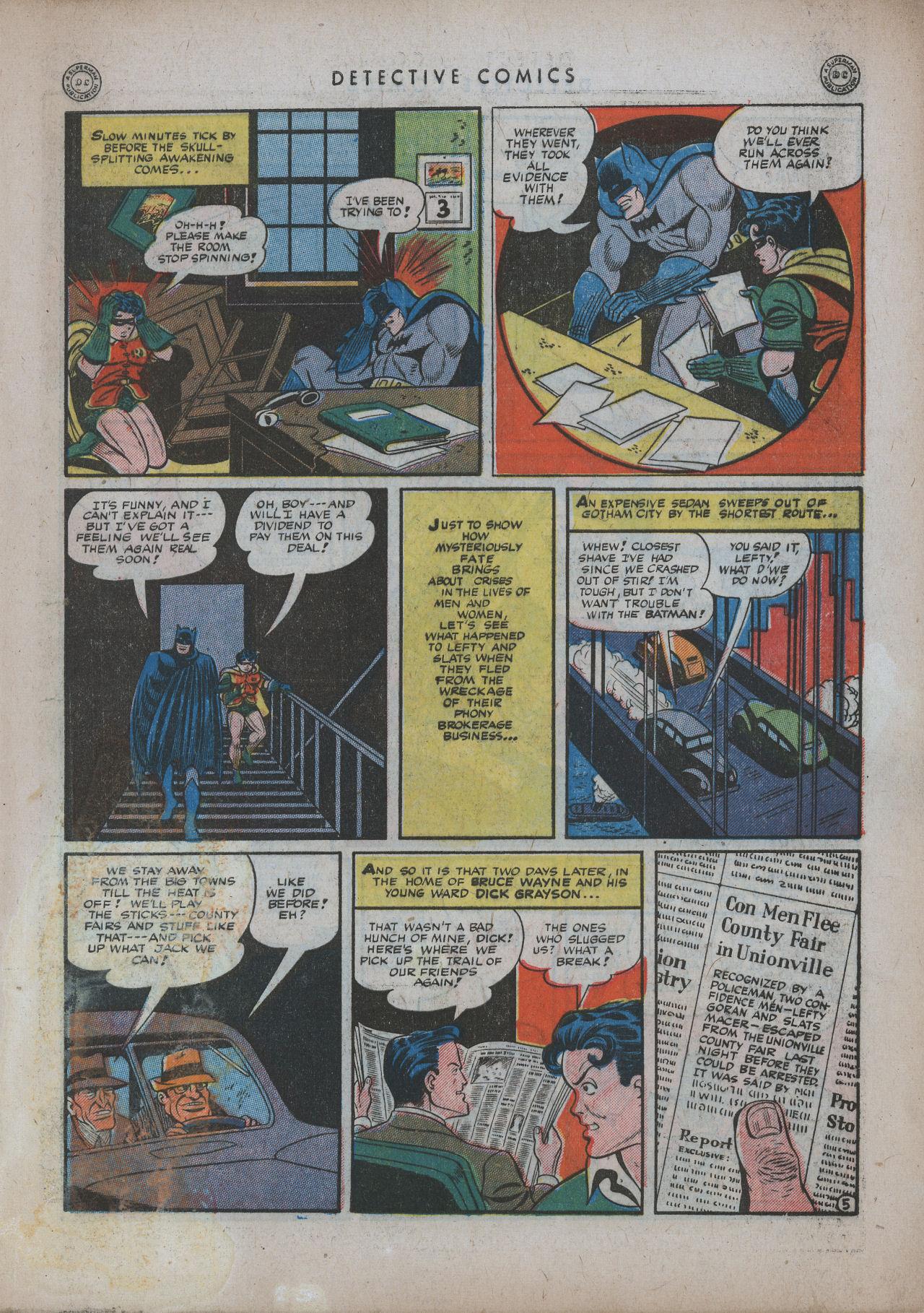 Read online Detective Comics (1937) comic -  Issue #94 - 7