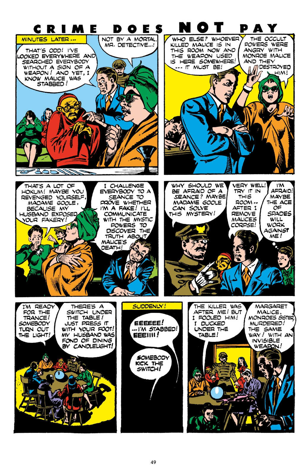 Read online Crime Does Not Pay Archives comic -  Issue # TPB 8 (Part 1) - 50