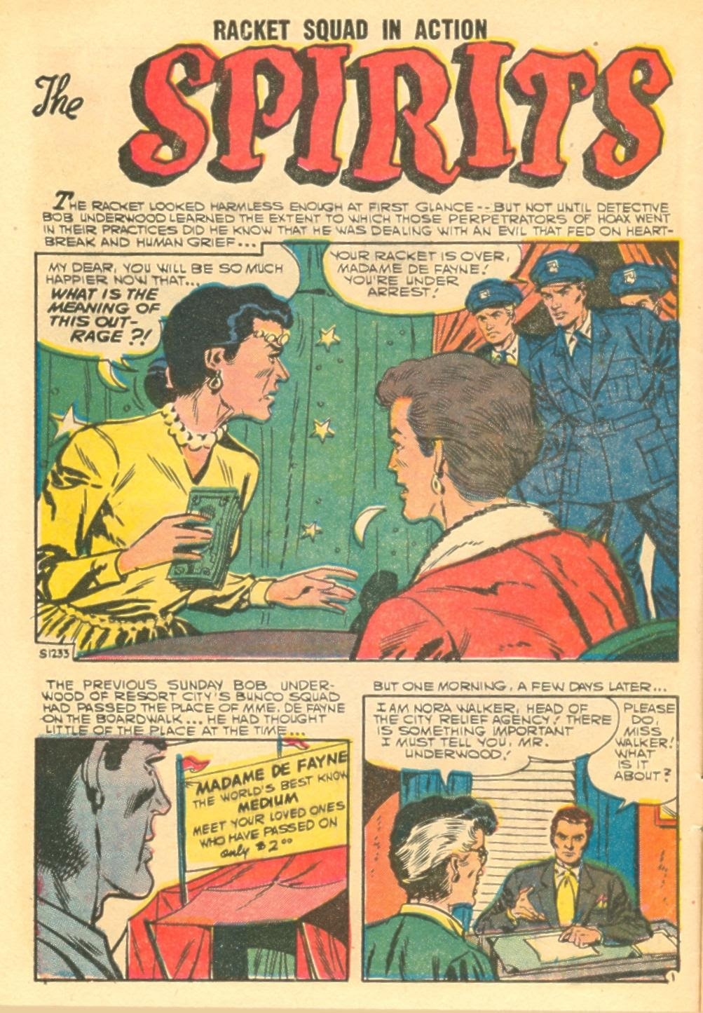 Read online Racket Squad in Action comic -  Issue #25 - 8