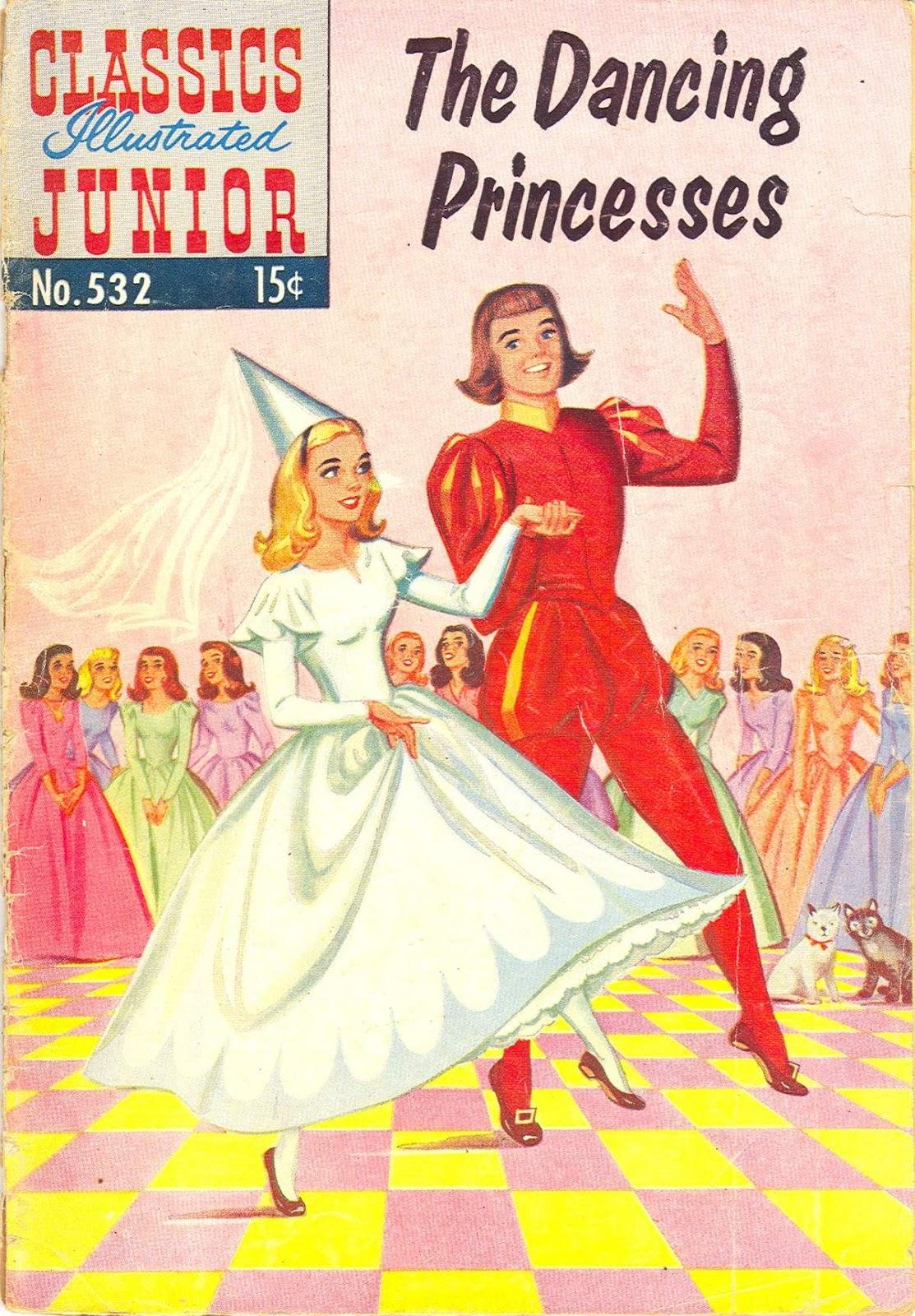 Classics Illustrated Junior 532 Page 1