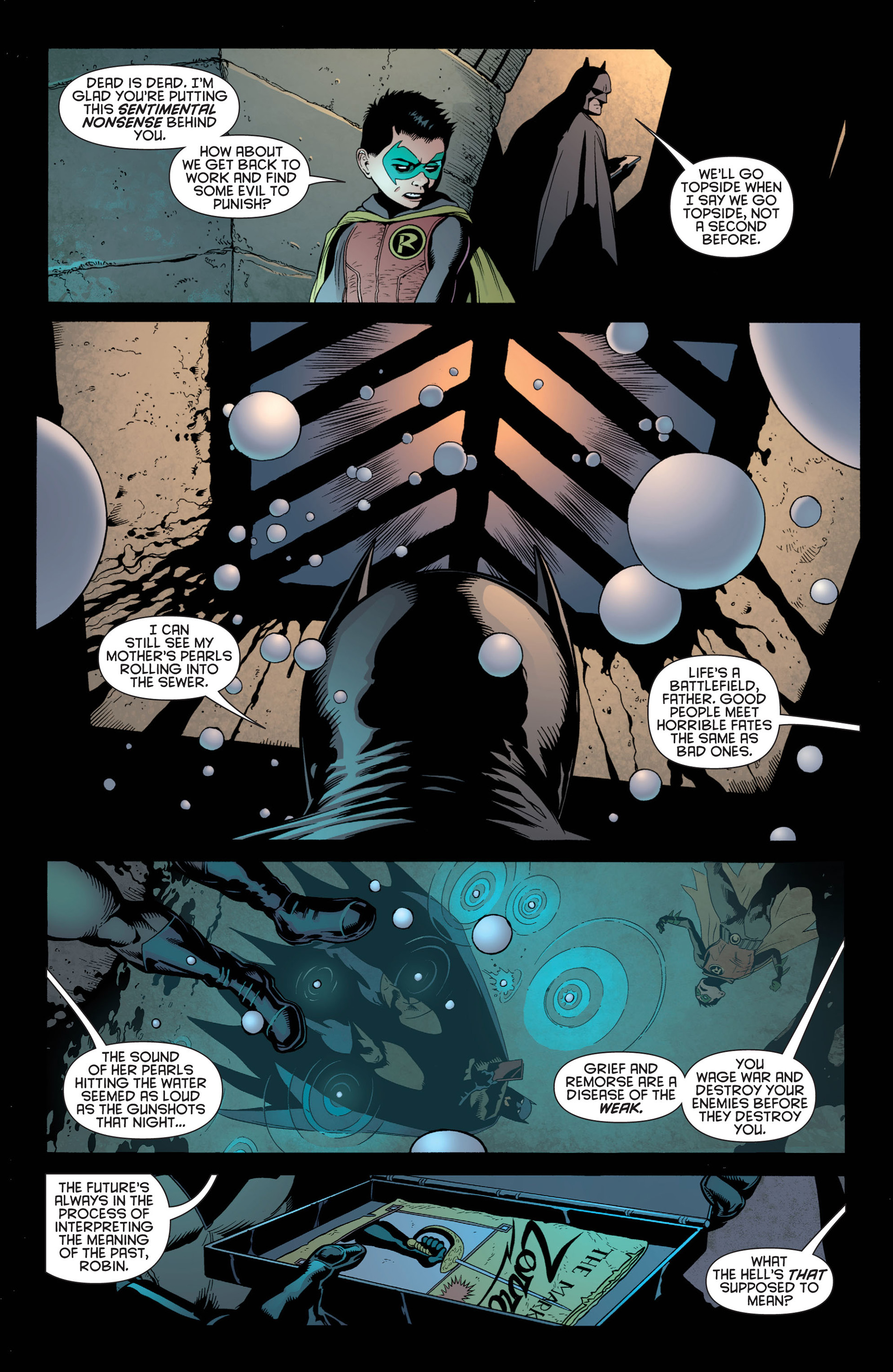 Read online Batman and Robin (2011) comic -  Issue #1 - 11
