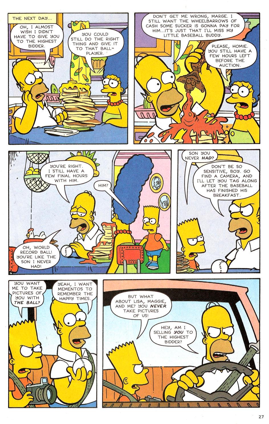Read online Simpsons Comics comic -  Issue #120 - 22