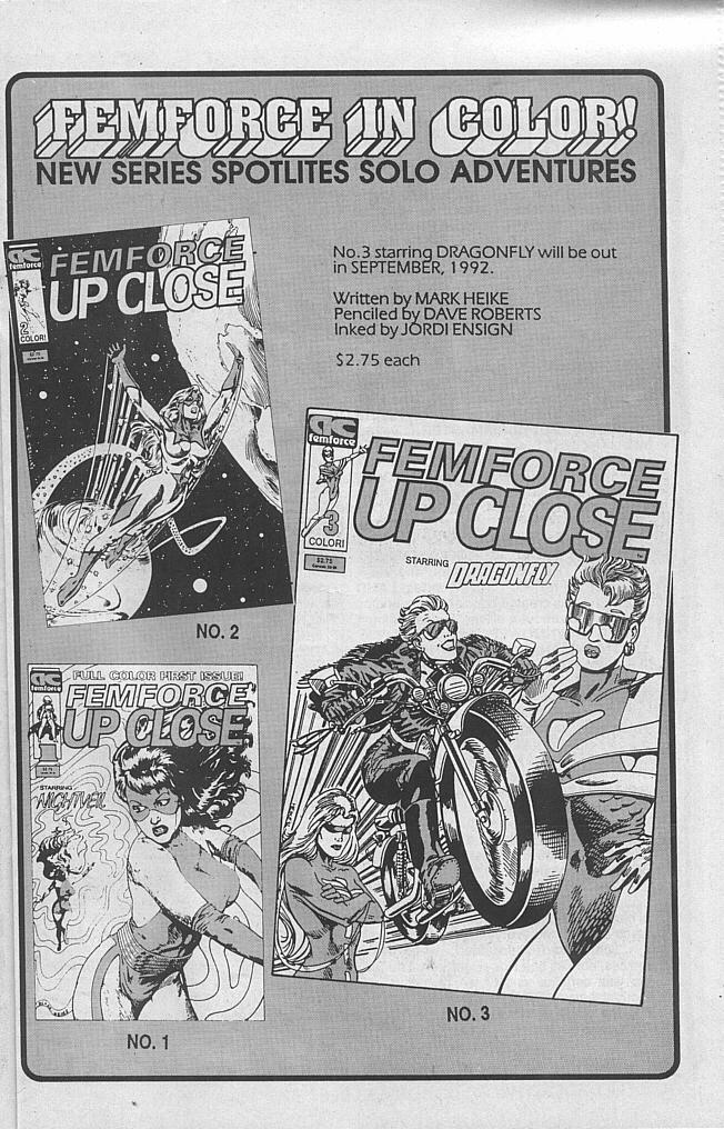 Femforce Issue #54 #54 - English 17