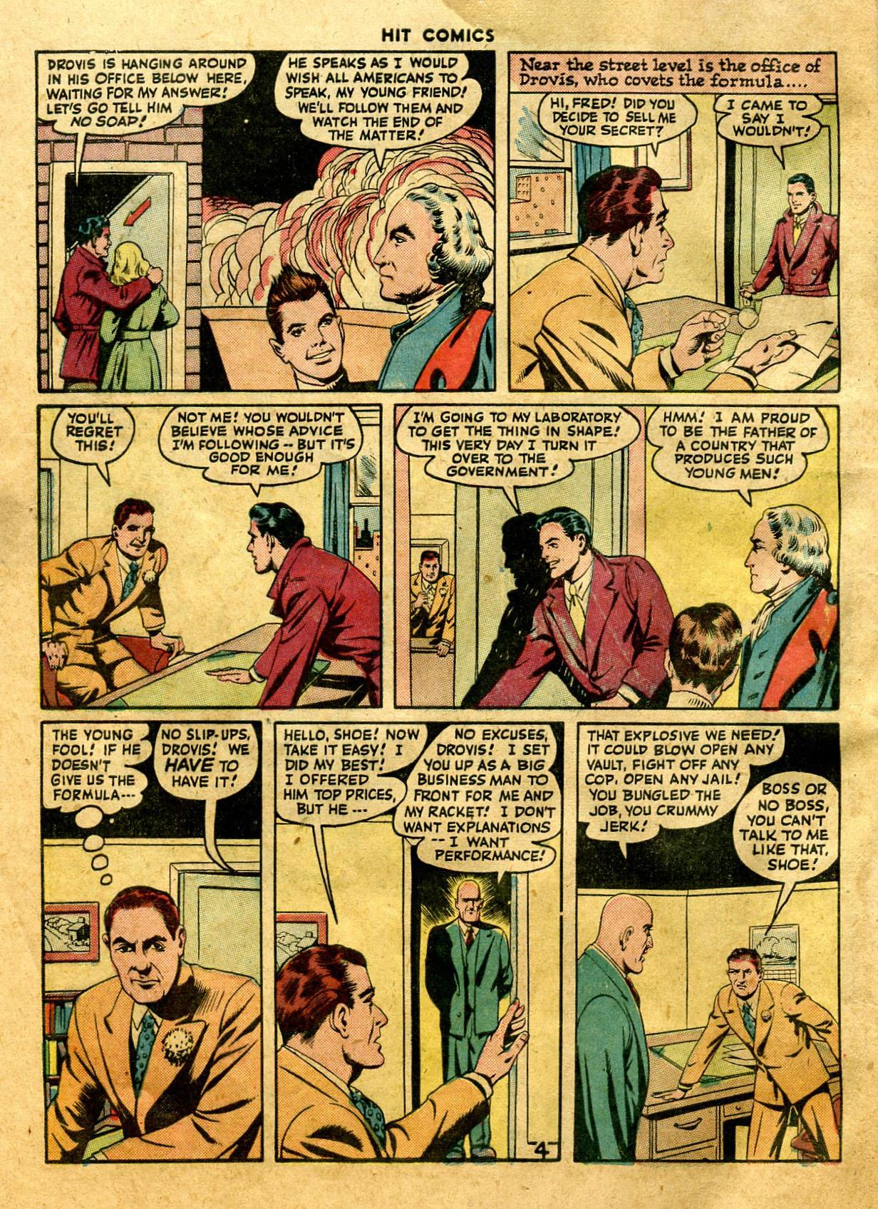 Read online Hit Comics comic -  Issue #44 - 6