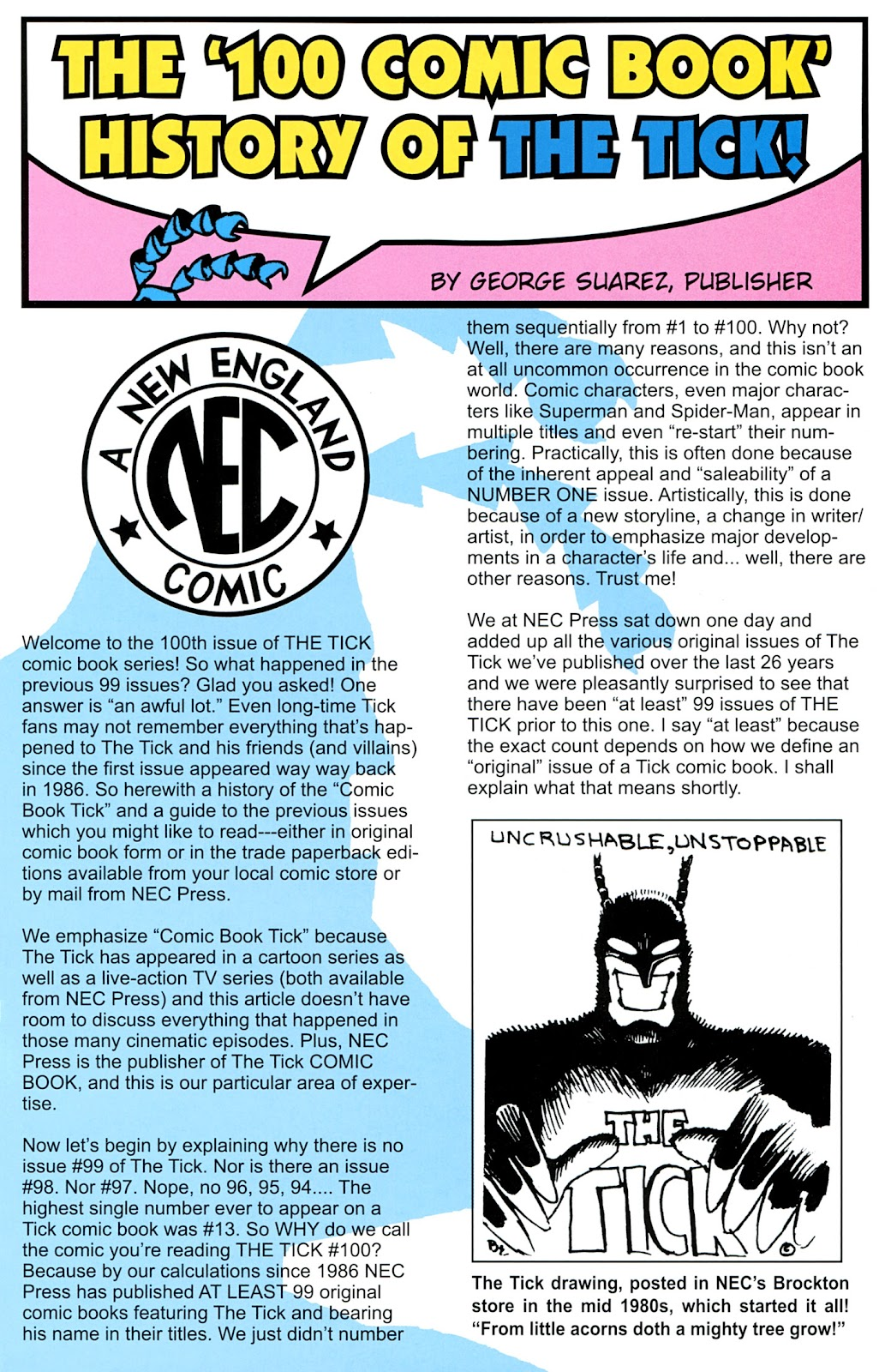 Read online The Tick comic -  Issue #100 - 27