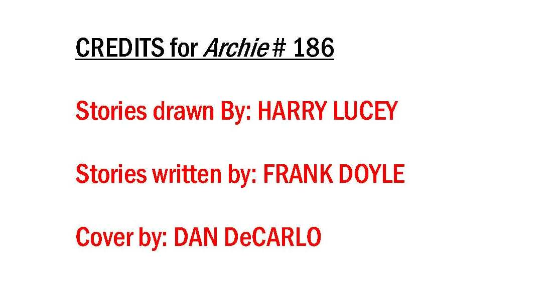 Read online Archie (1960) comic -  Issue #186 - 37