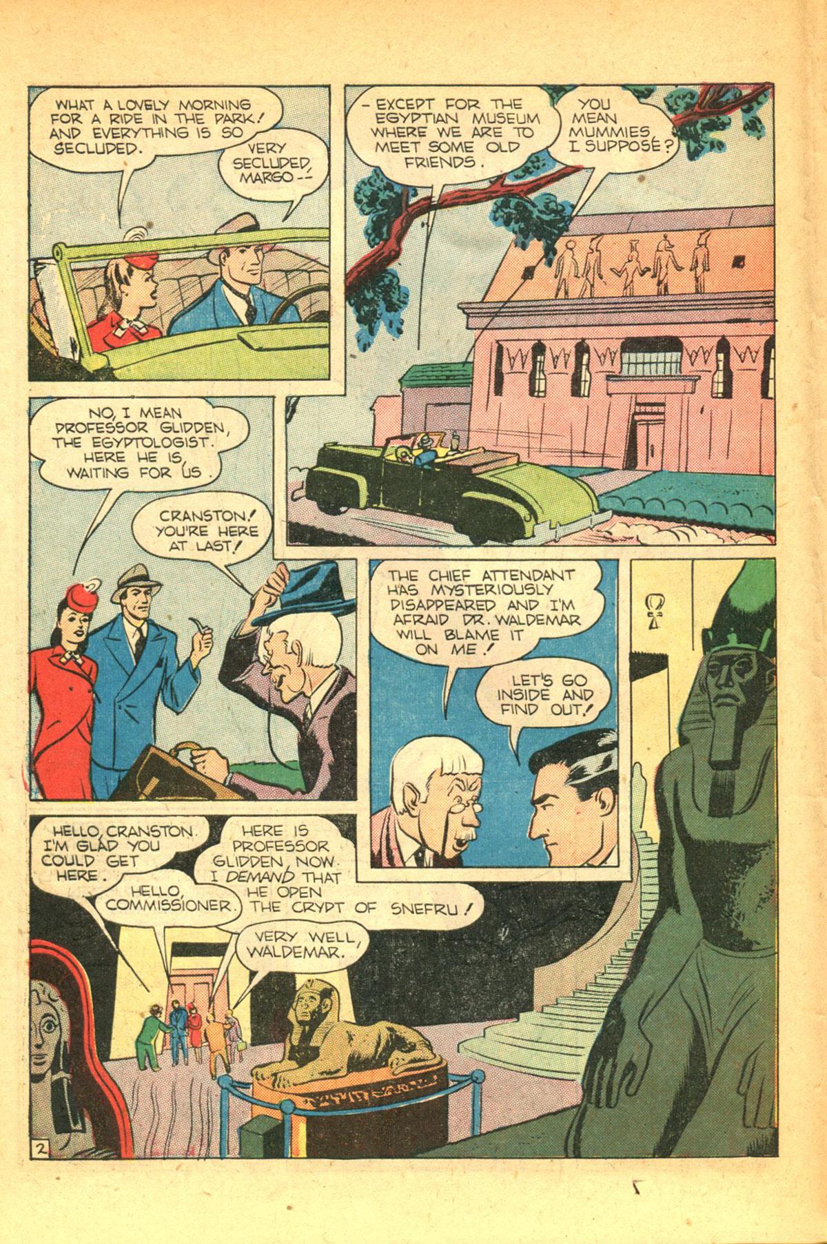 Read online Shadow Comics comic -  Issue #38 - 18