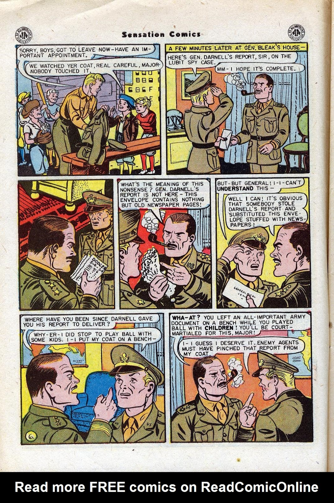 Sensation (Mystery) Comics issue 44 - Page 8