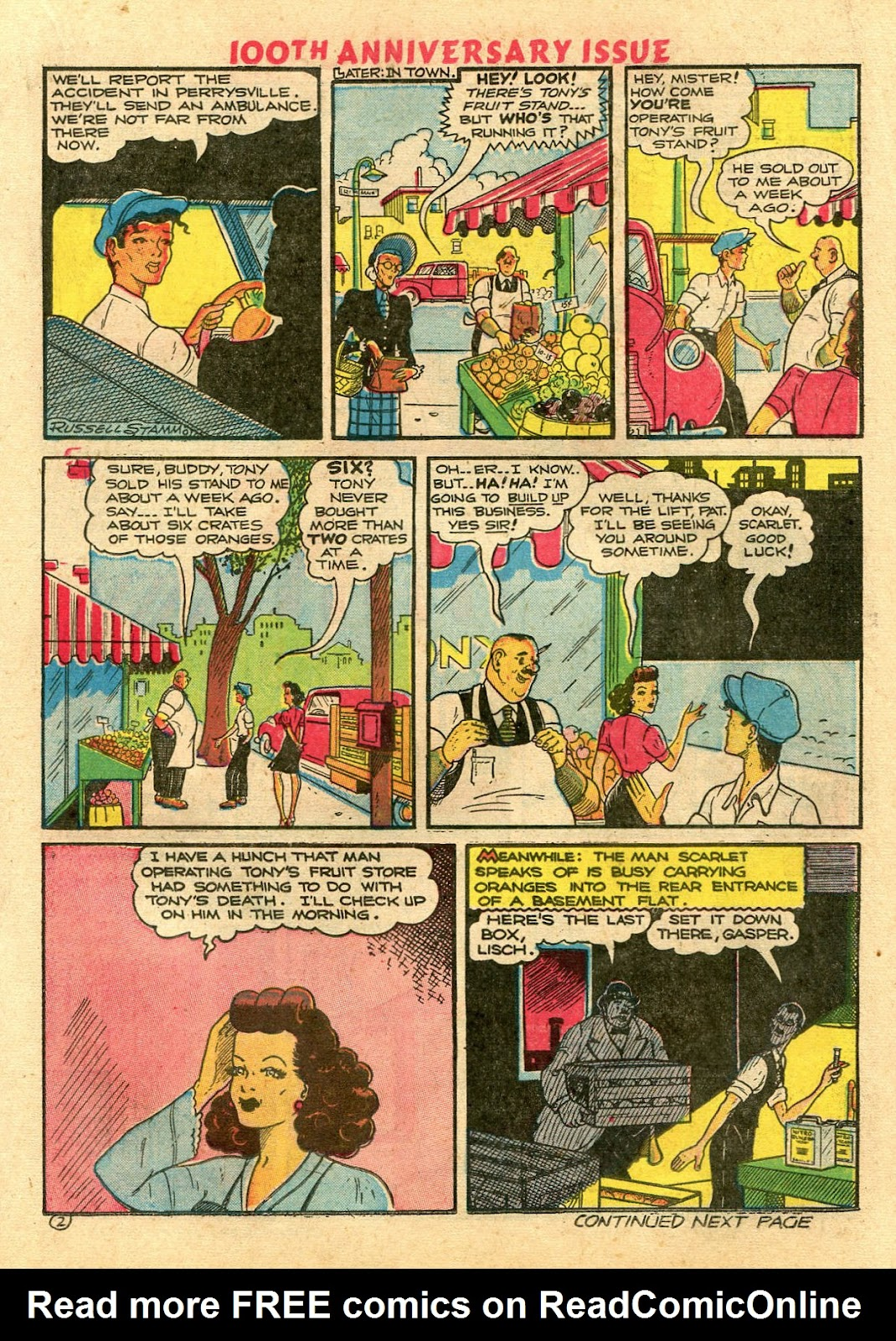 Read online Famous Funnies comic -  Issue #100 - 31