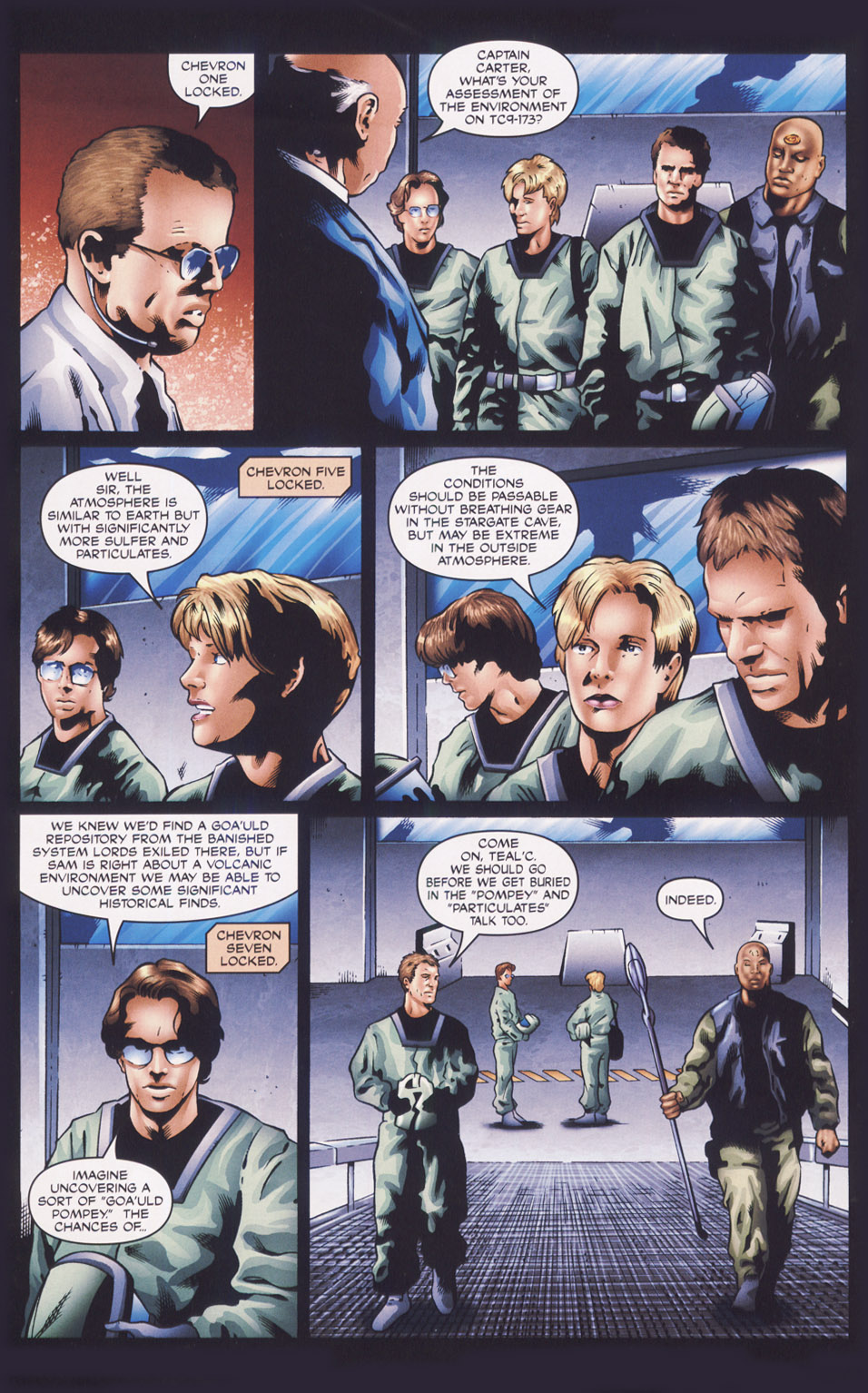 Read online Stargate SG-1: Fall of Rome comic -  Issue #1 - 13