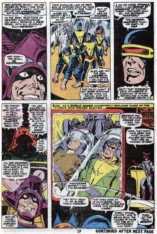 Read online Uncanny X-Men (1963) comic -  Issue #85 - 21