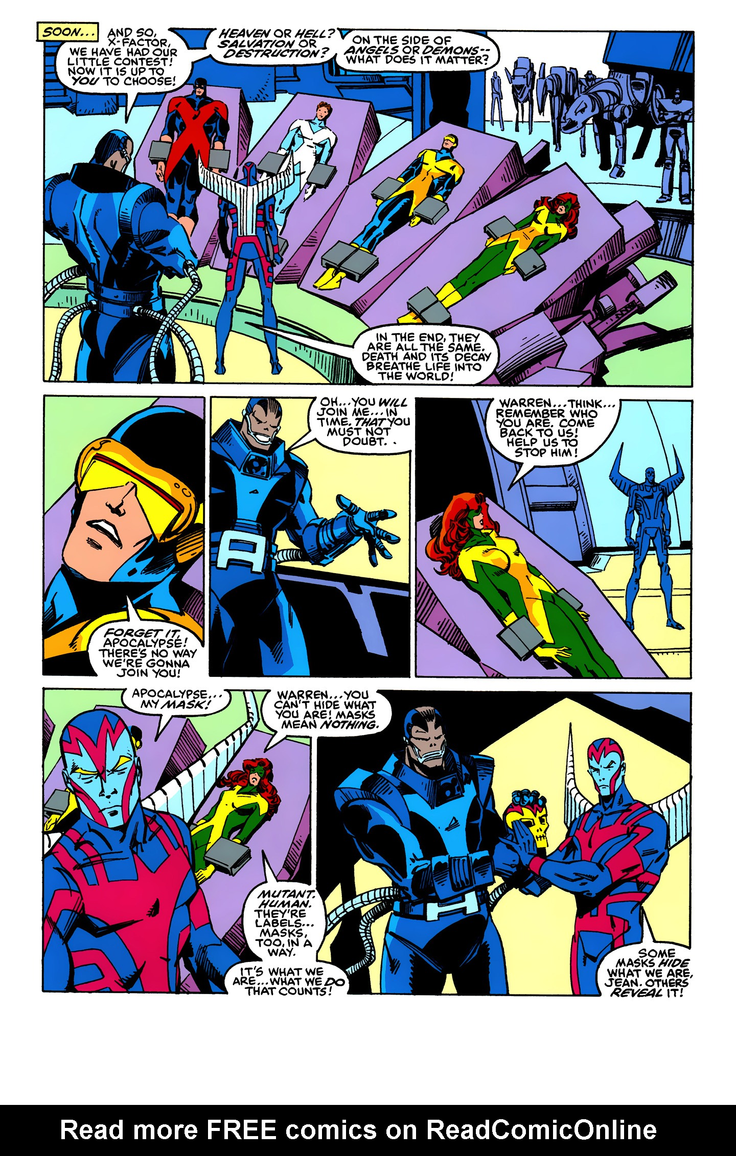 Read online X-Factor (1986) comic -  Issue #24 - 22