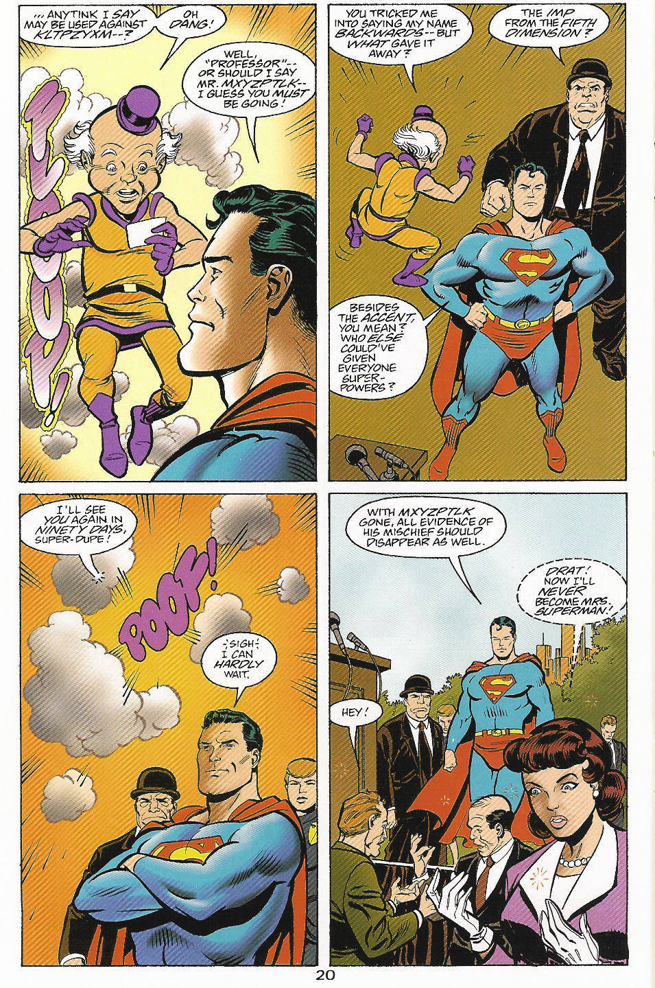 Read online Adventures of Superman (1987) comic -  Issue #559 - 21