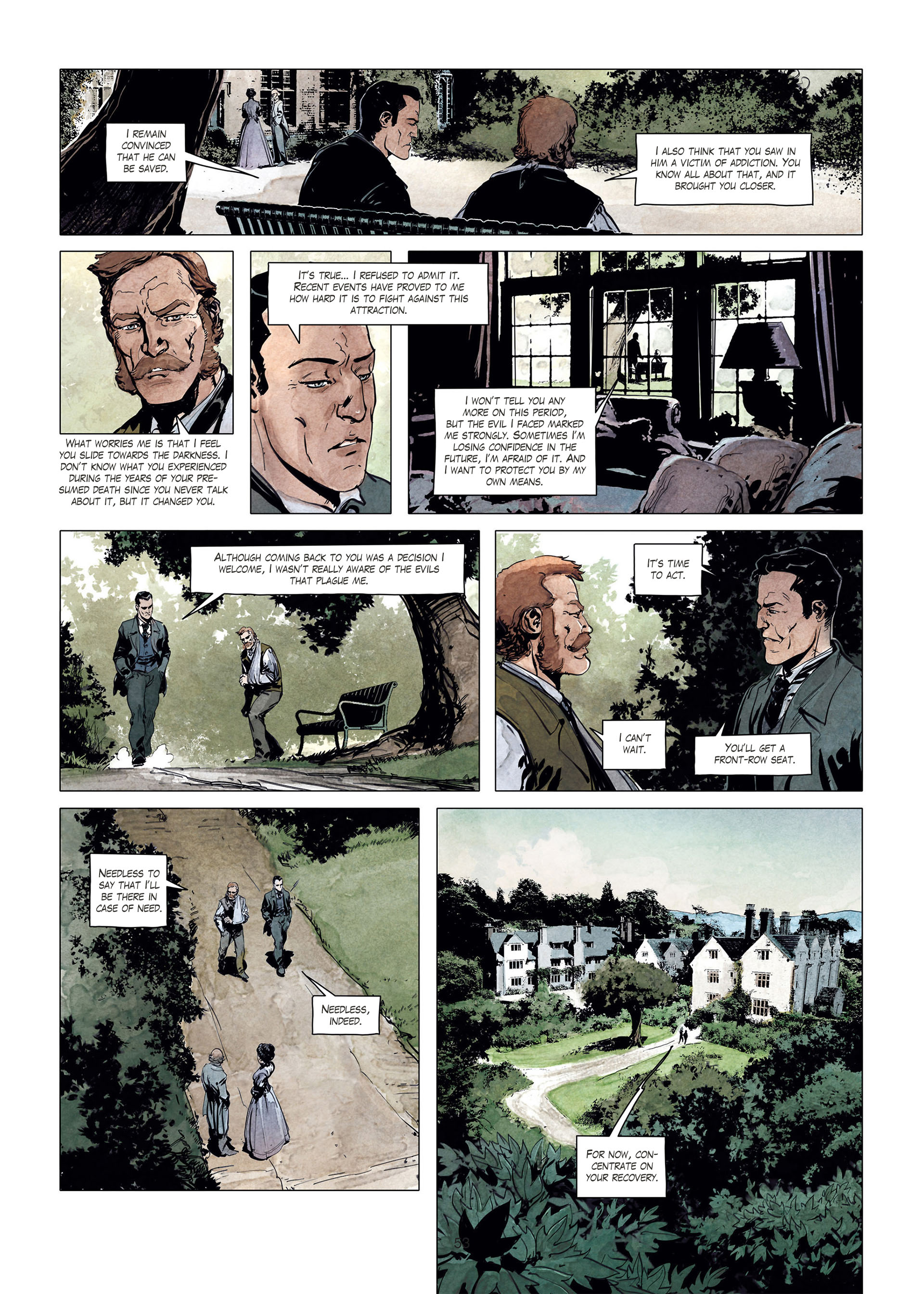 Read online Sherlock Holmes Society Tome 4 : Contamination comic -  Issue # Full - 53