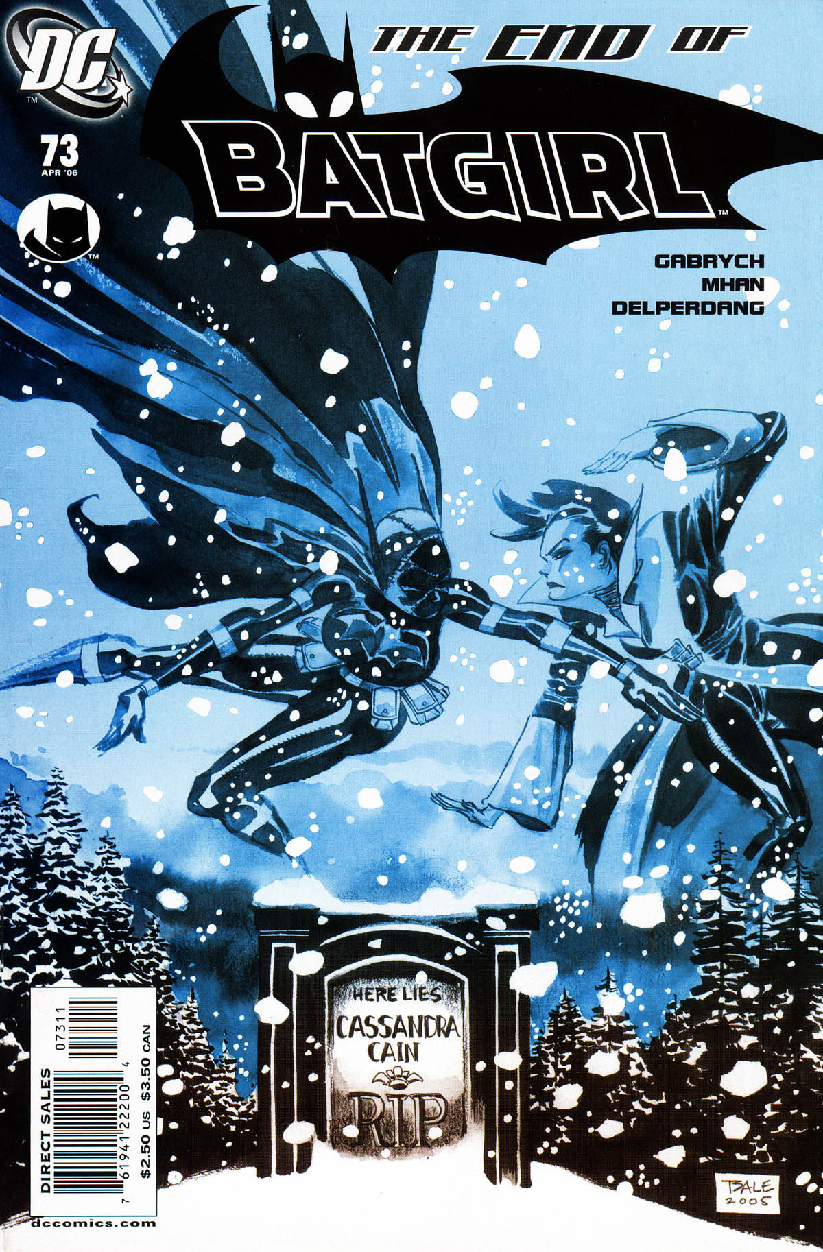 Batgirl (2000) 73 Page 1