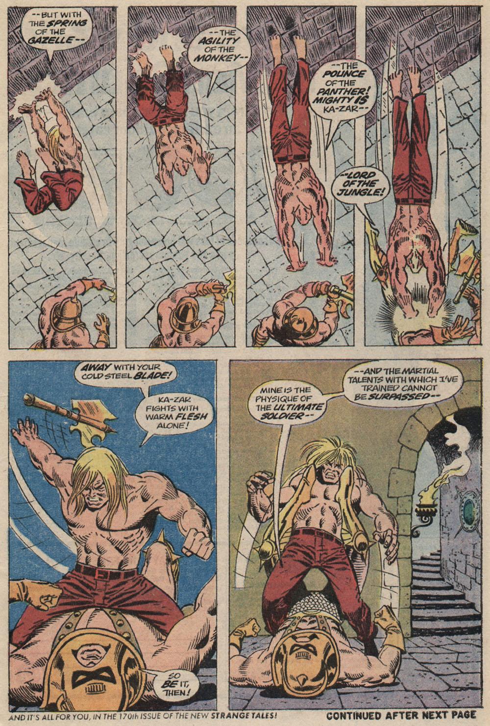 Read online Astonishing Tales (1970) comic -  Issue #20 - 4