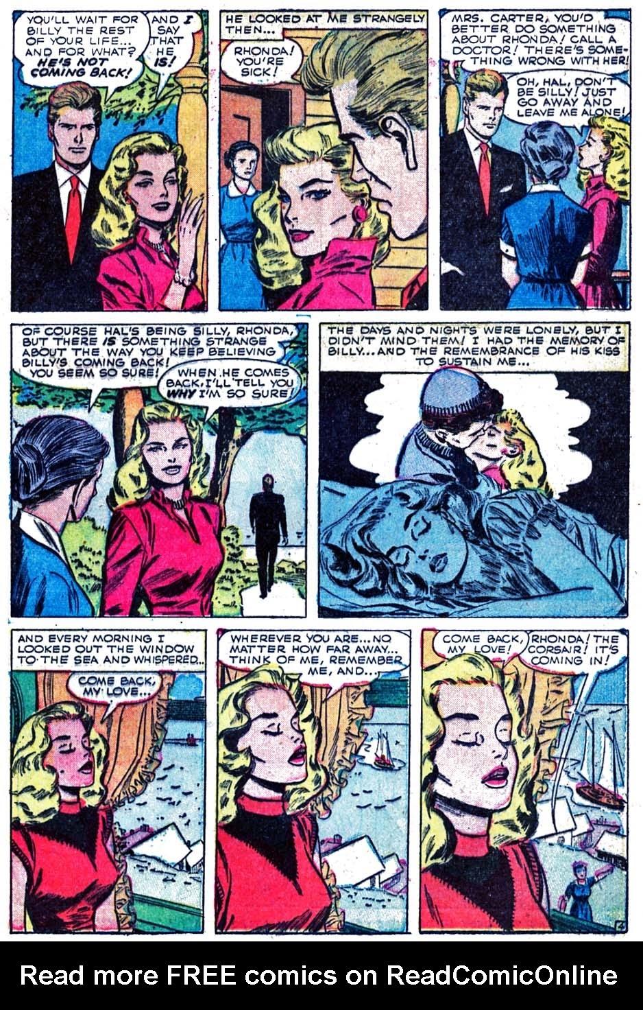Love Romances (1949) issue 52 - Page 23
