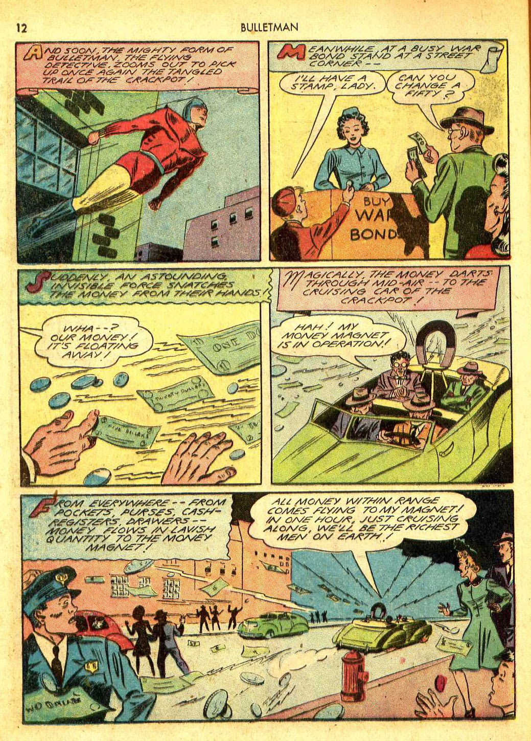 Bulletman issue 12 - Page 11