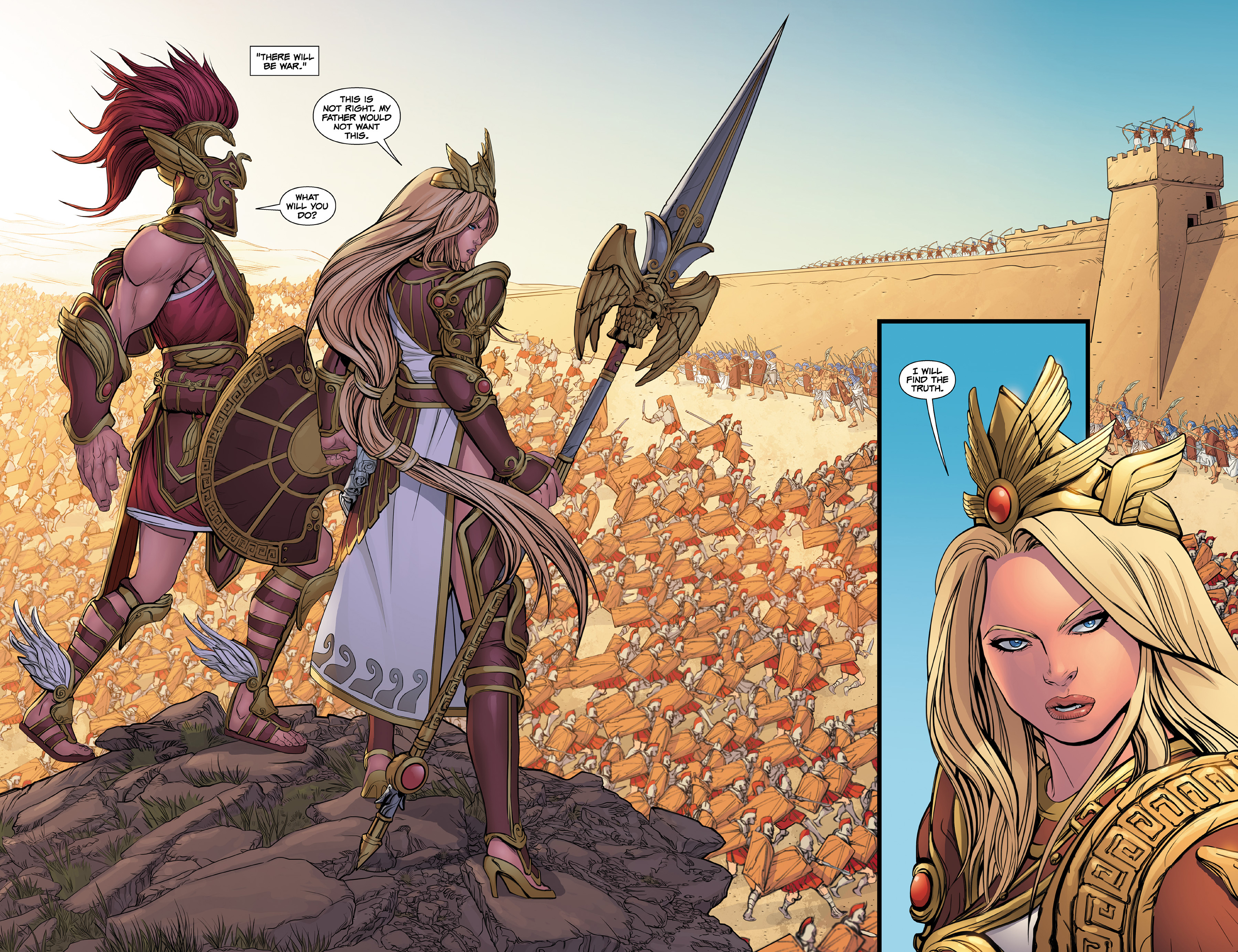 Read online SMITE: The Pantheon War comic -  Issue #1 - 22