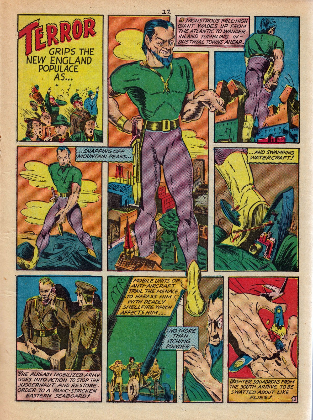 Read online Comedy Comics (1942) comic -  Issue #10 - 29