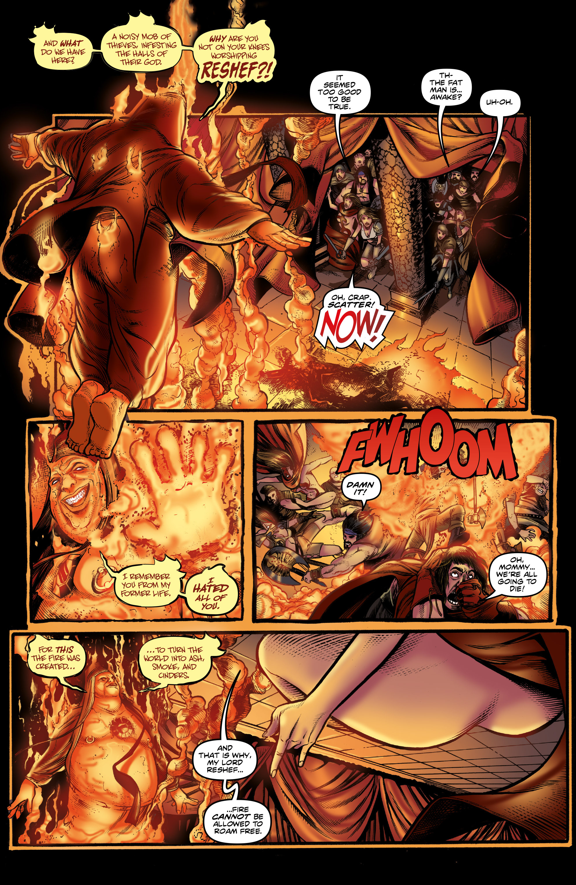 Read online Rogues!: The Burning Heart comic -  Issue #3 - 14