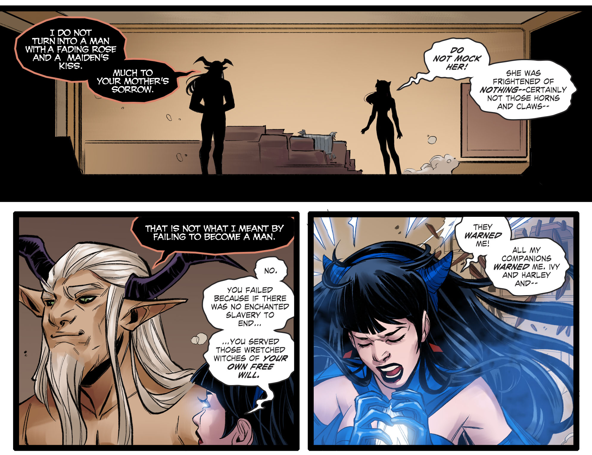 Read online DC Comics: Bombshells comic -  Issue #96 - 12