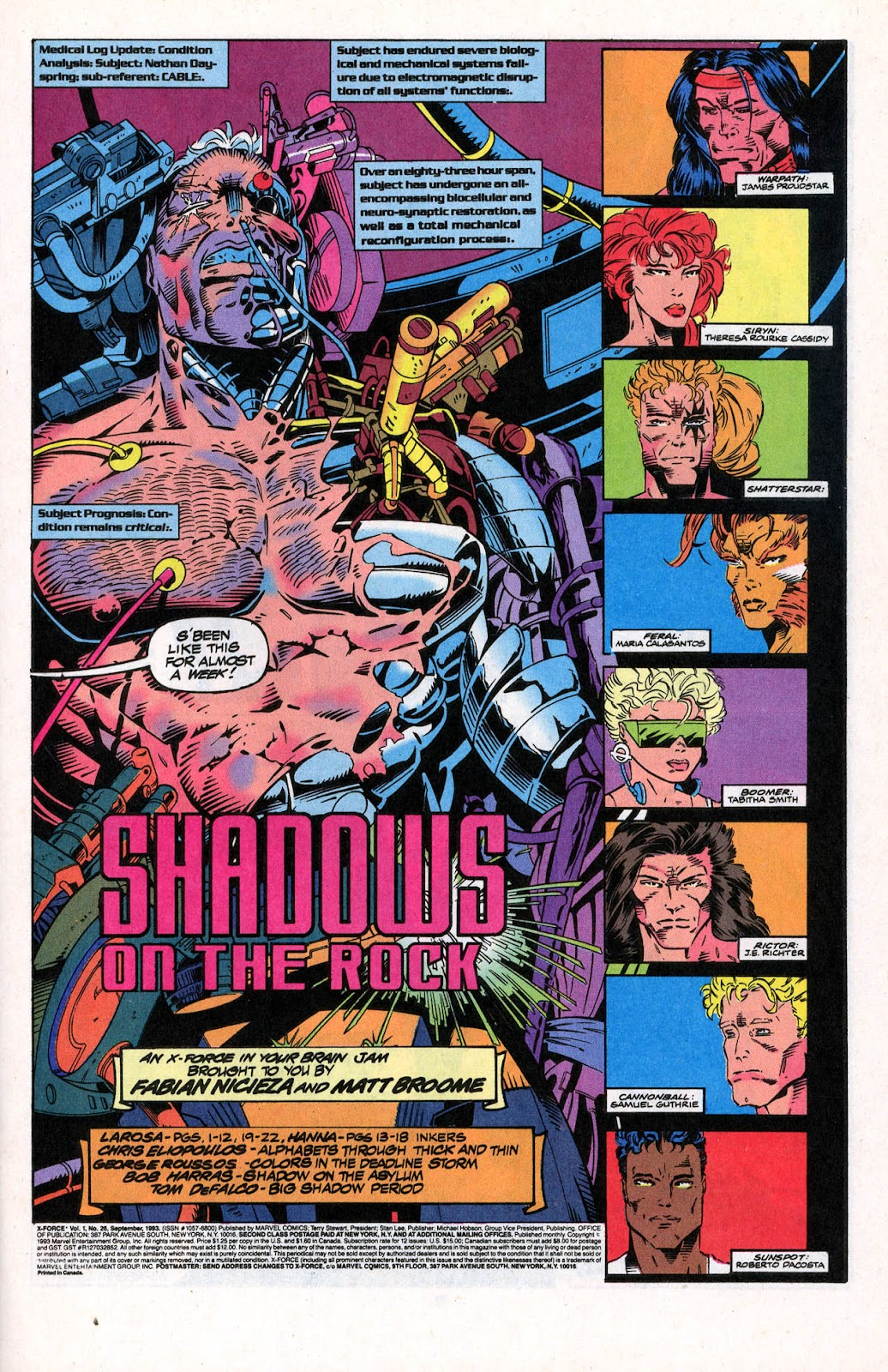 X-Force (1991) Issue #26 #31 - English 3
