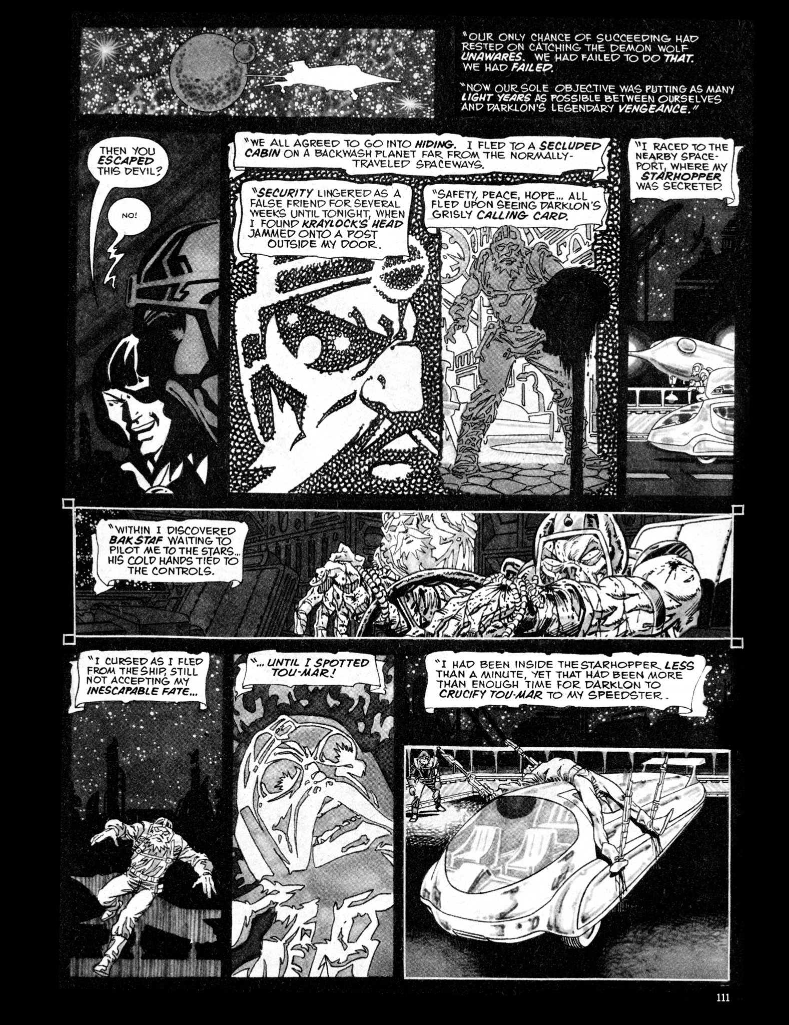Read online Eerie Archives comic -  Issue # TPB 16 - 112