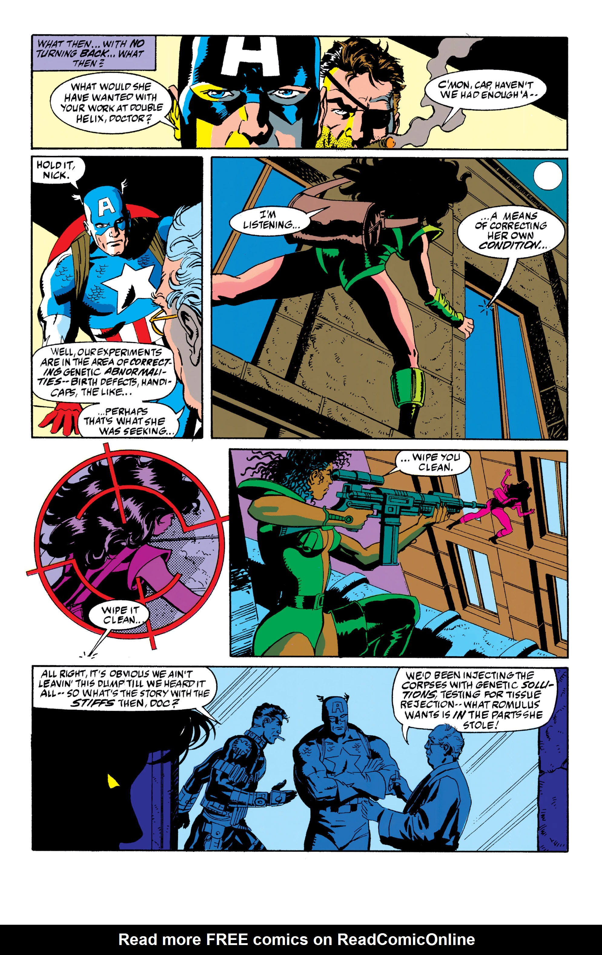 Read online Captain America (1968) comic -  Issue # _Annual 10 - 16