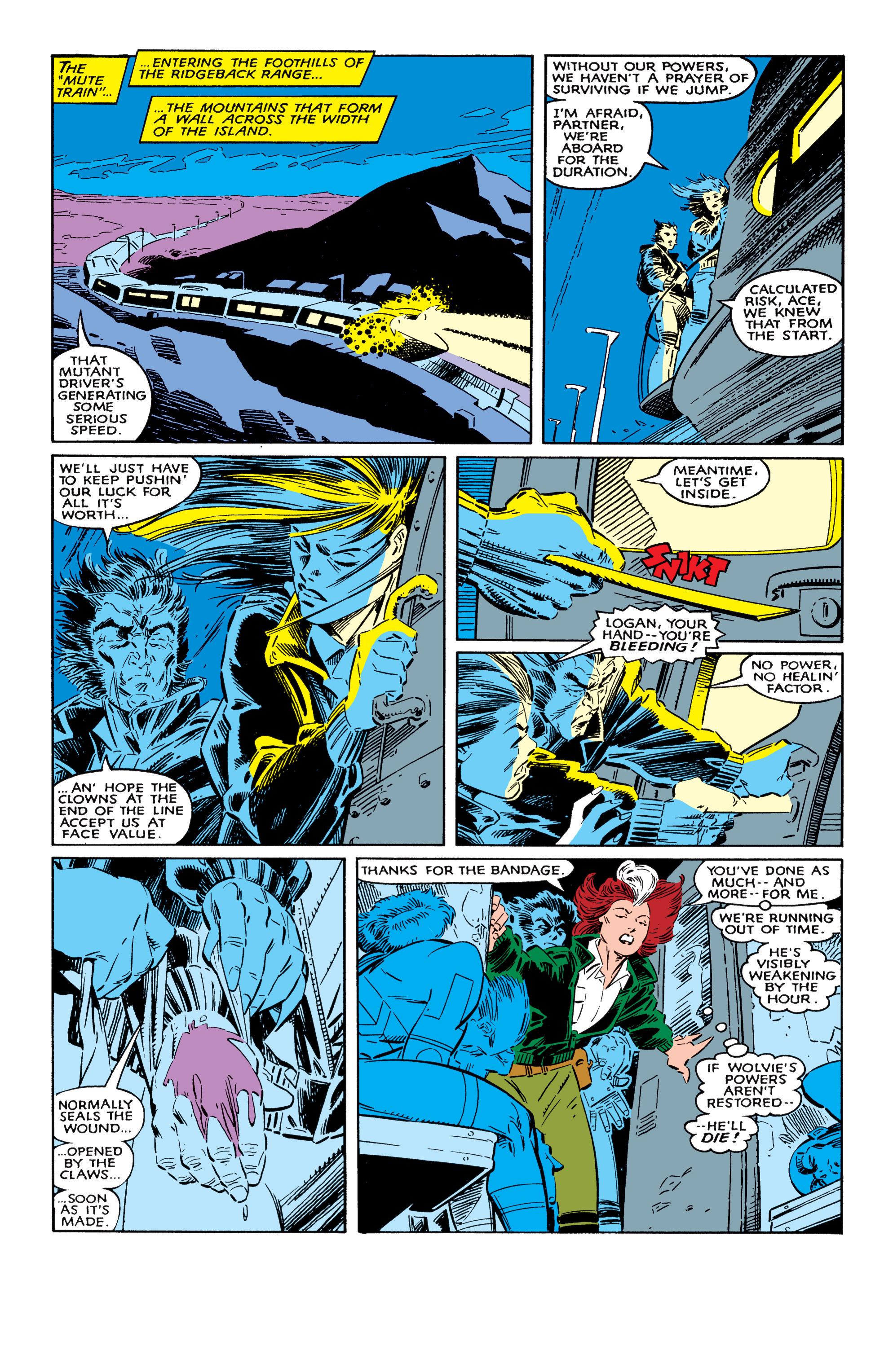 Read online Uncanny X-Men (1963) comic -  Issue #237 - 20