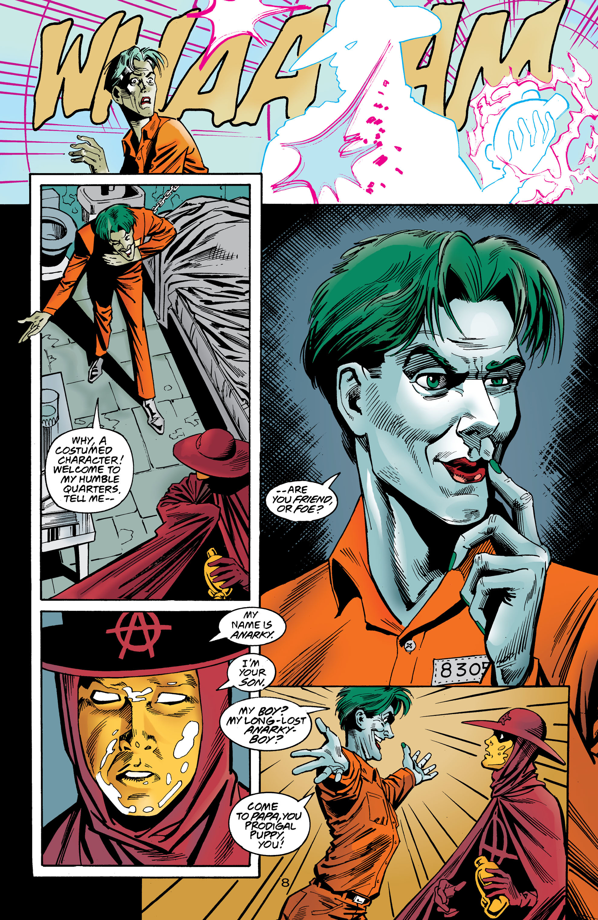 Read online Anarky (1999) comic -  Issue #8 - 9