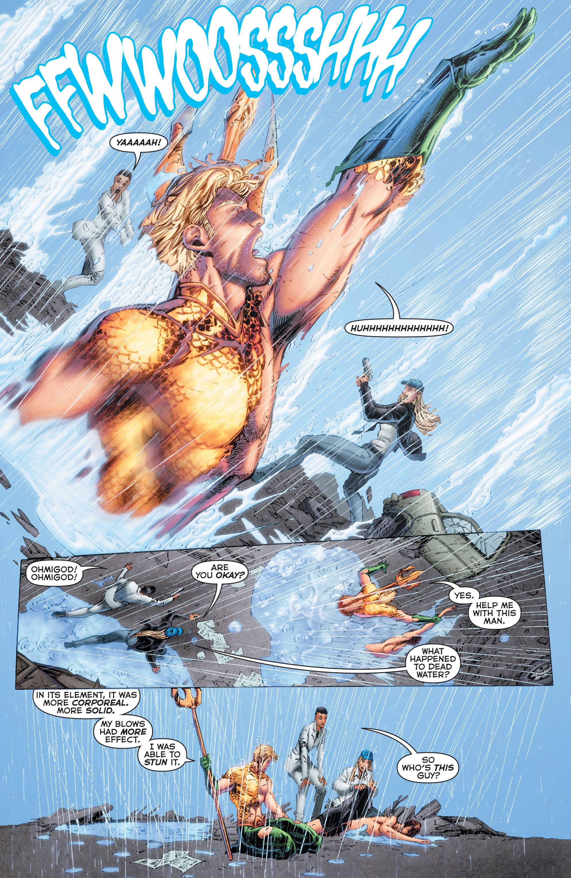 Read online Aquaman (2011) comic -  Issue #50 - 36