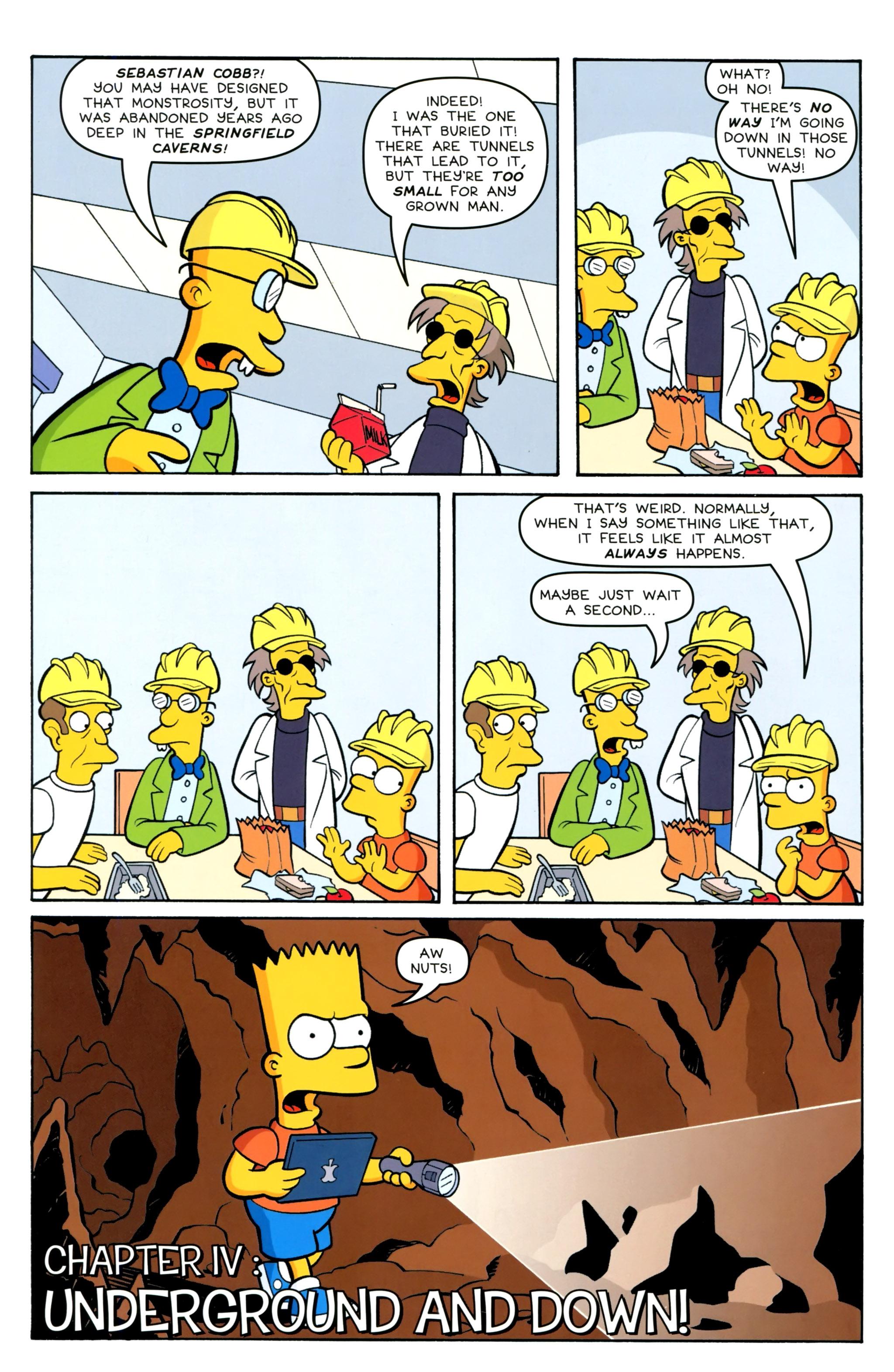 Read online Simpsons Comics Presents Bart Simpson comic -  Issue #100 - 22