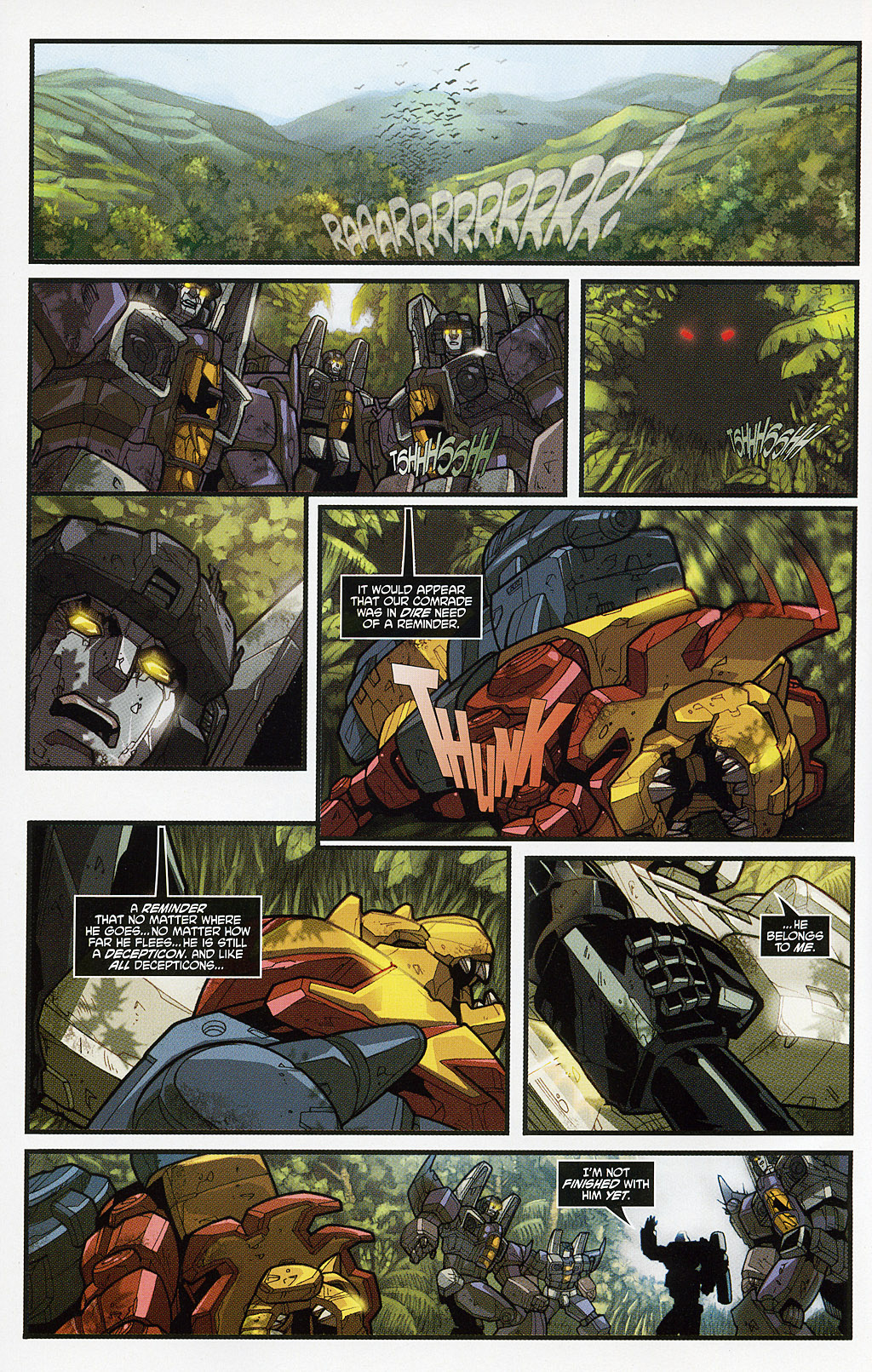 Read online Transformers 20th Anniversary Summer Special comic -  Issue # Full - 9