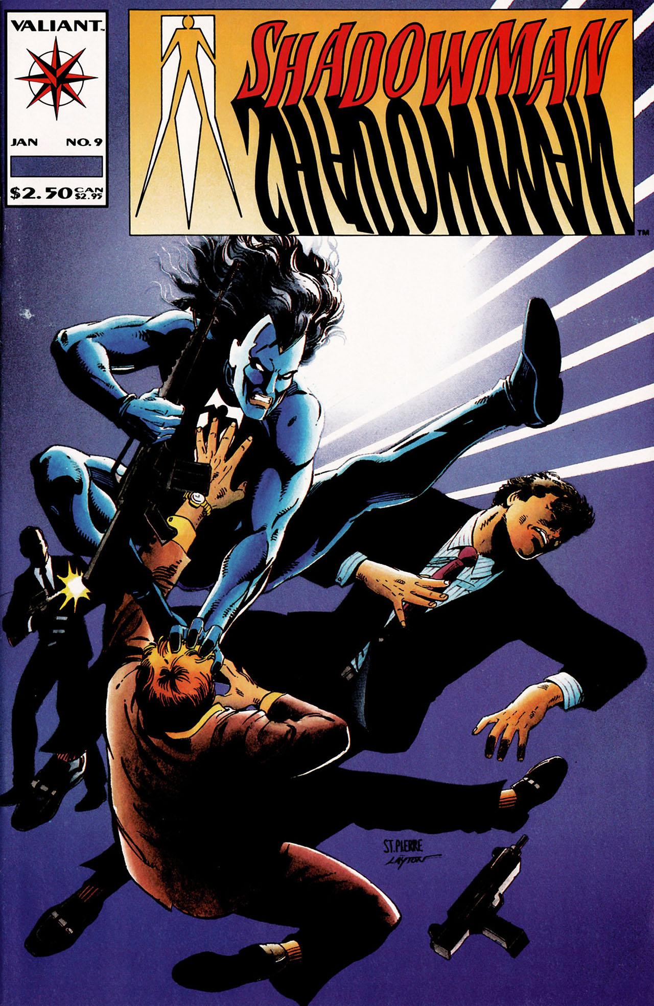 Read online Shadowman (1992) comic -  Issue #9 - 1