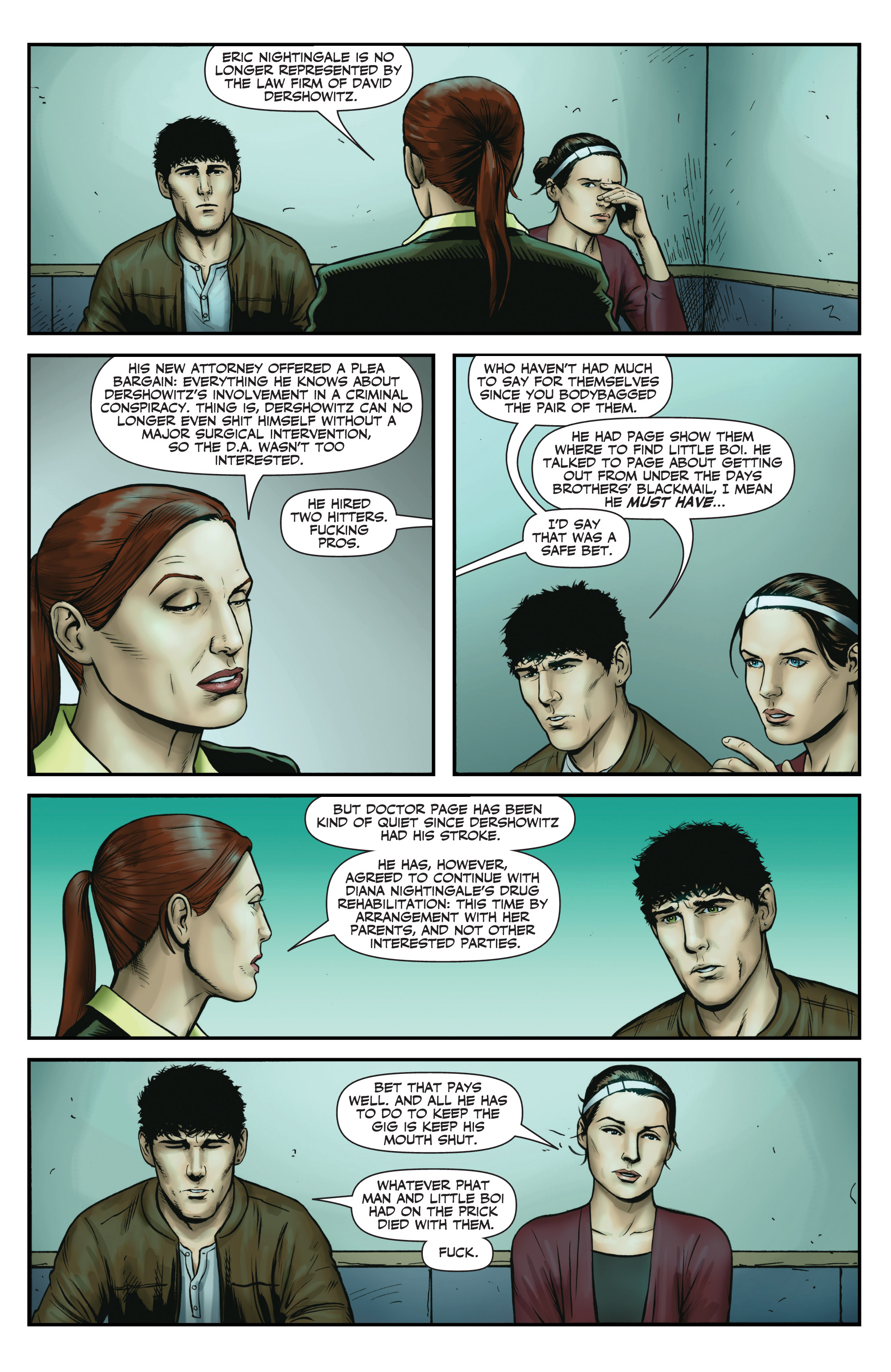 Read online Red Team: Double Tap, Center Mass comic -  Issue #9 - 20