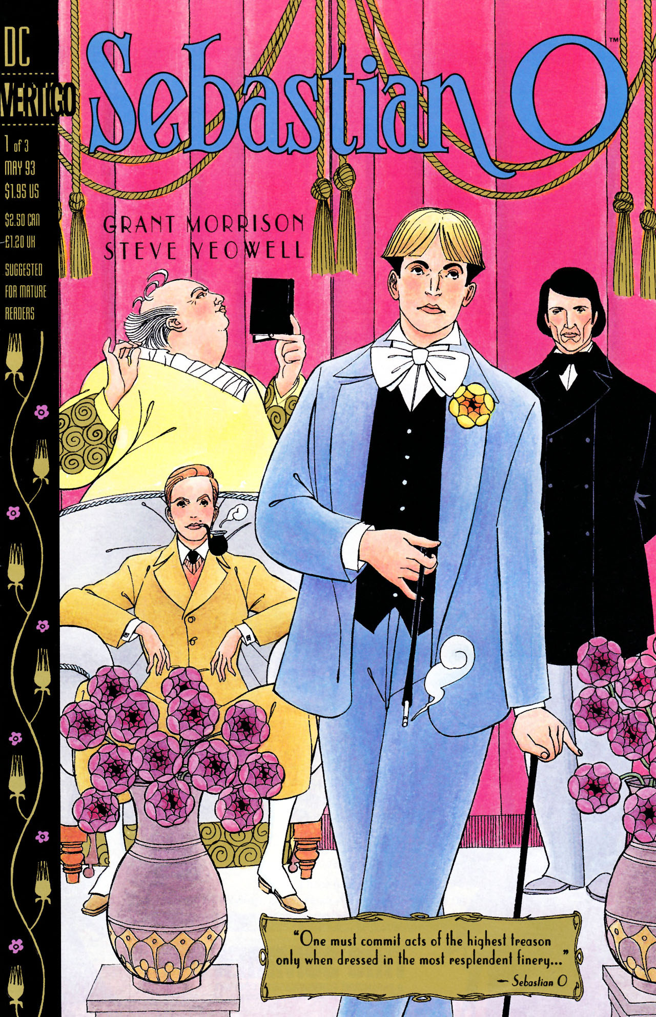 Read online Sebastian O comic -  Issue #1 - 1