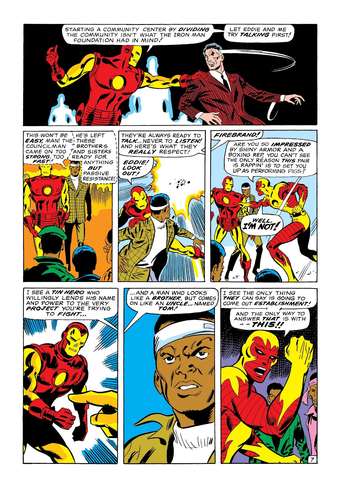 Read online Marvel Masterworks: The Invincible Iron Man comic -  Issue # TPB 7 (Part 1) - 36