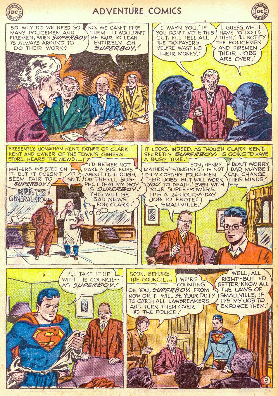 Read online Adventure Comics (1938) comic -  Issue #172 - 5