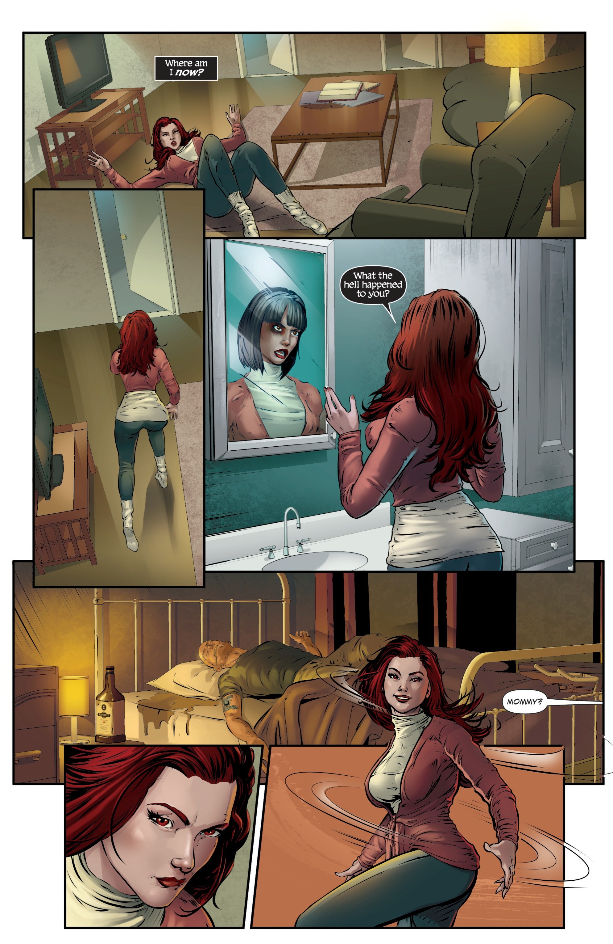 Read online Grimm Fairy Tales presents Death comic -  Issue # Full - 29