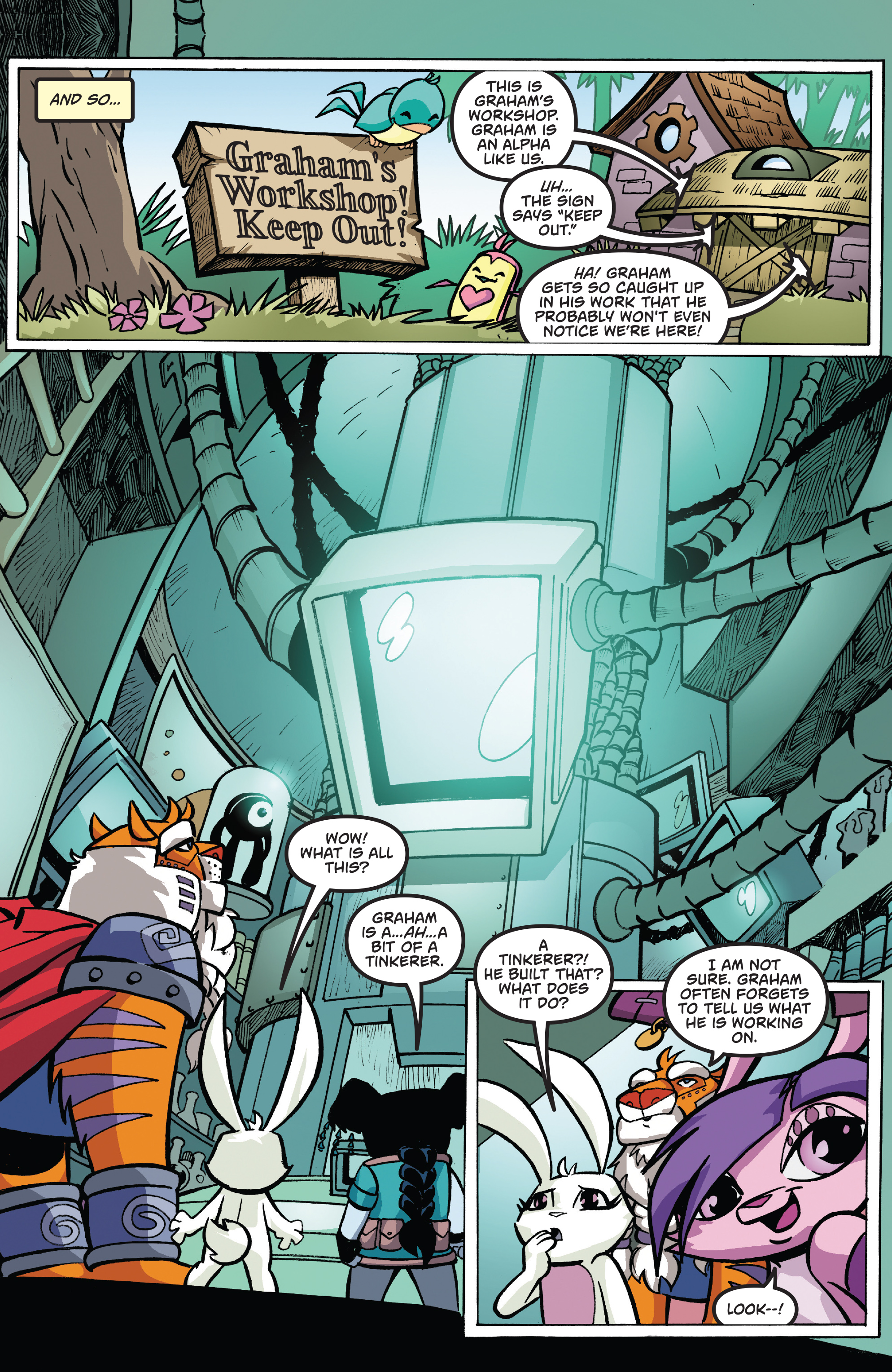 Read online Free Comic Book Day 2017 comic -  Issue # Animal Jam - 7
