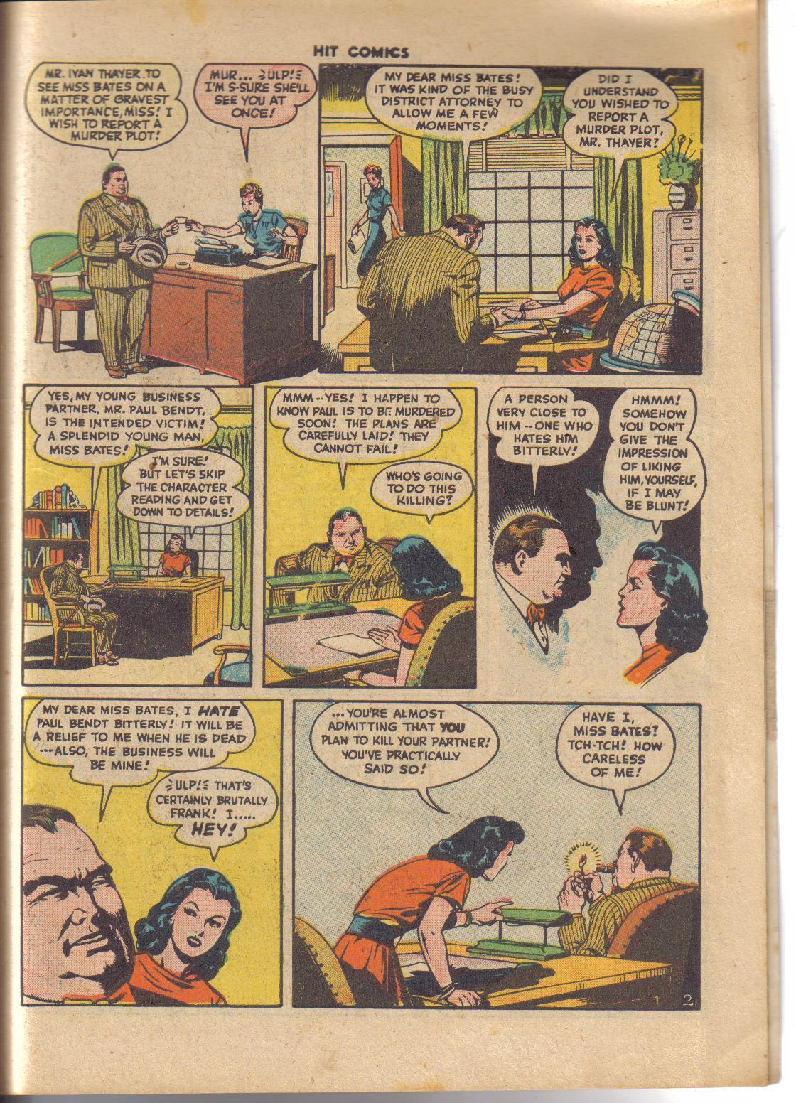 Read online Hit Comics comic -  Issue #45 - 24