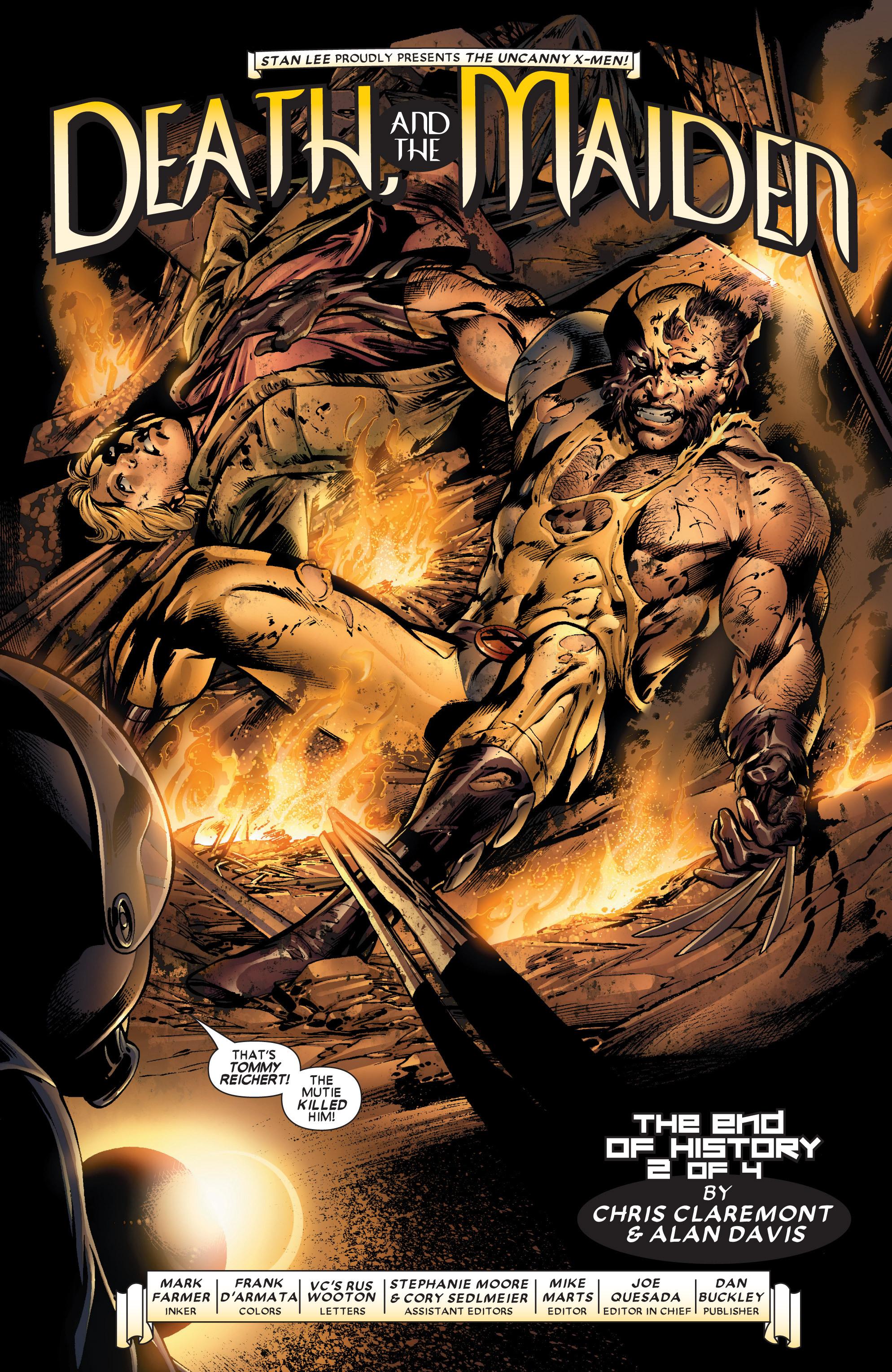 Read online Uncanny X-Men (1963) comic -  Issue #445 - 4