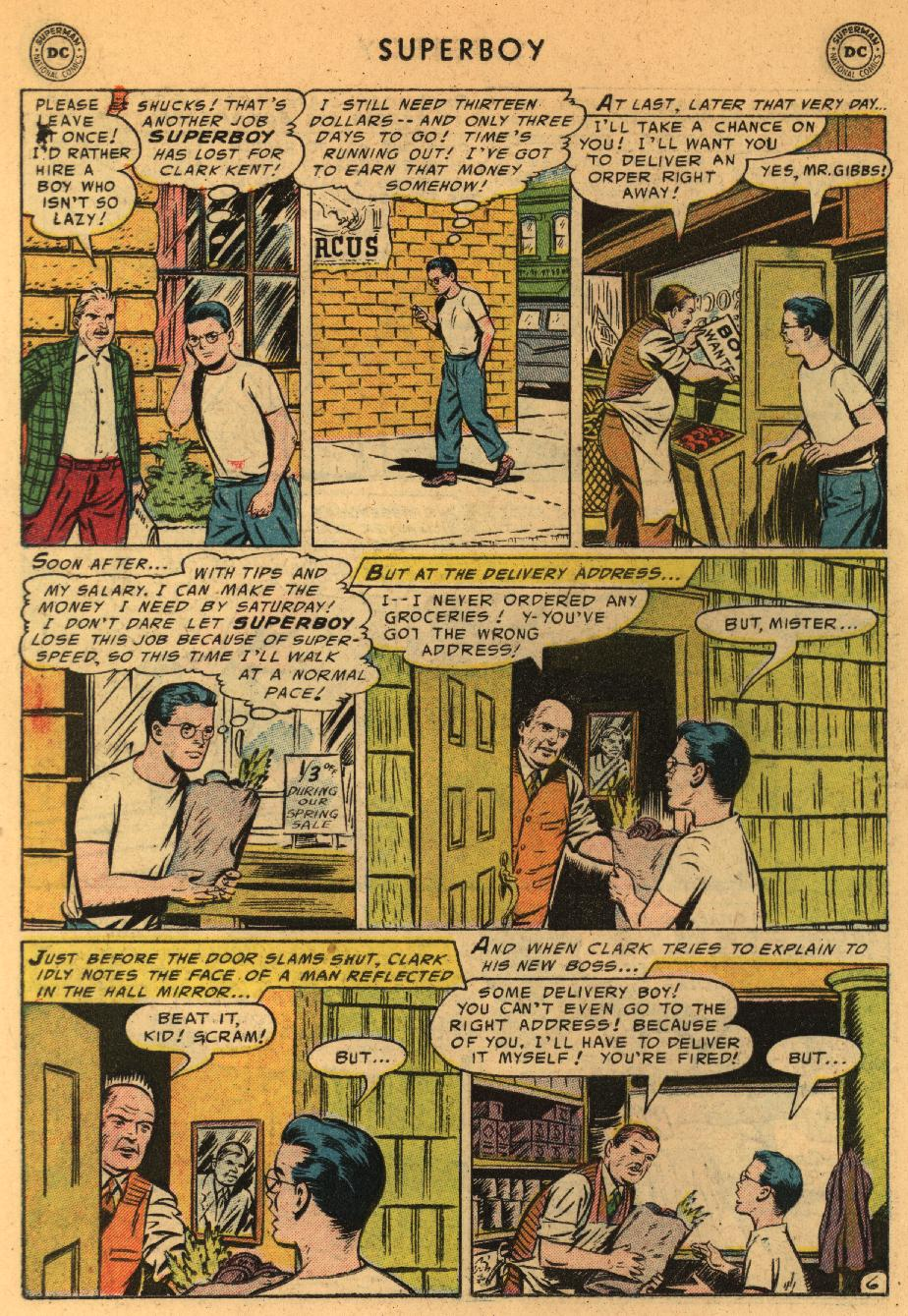 Superboy (1949) issue 44 - Page 16