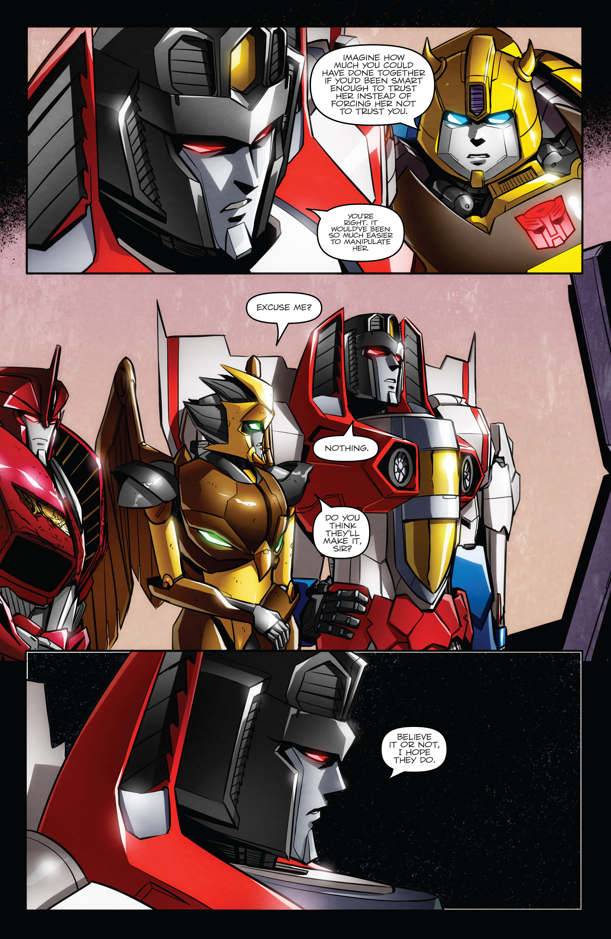 Read online Transformers: Till All Are One comic -  Issue #7 - 6