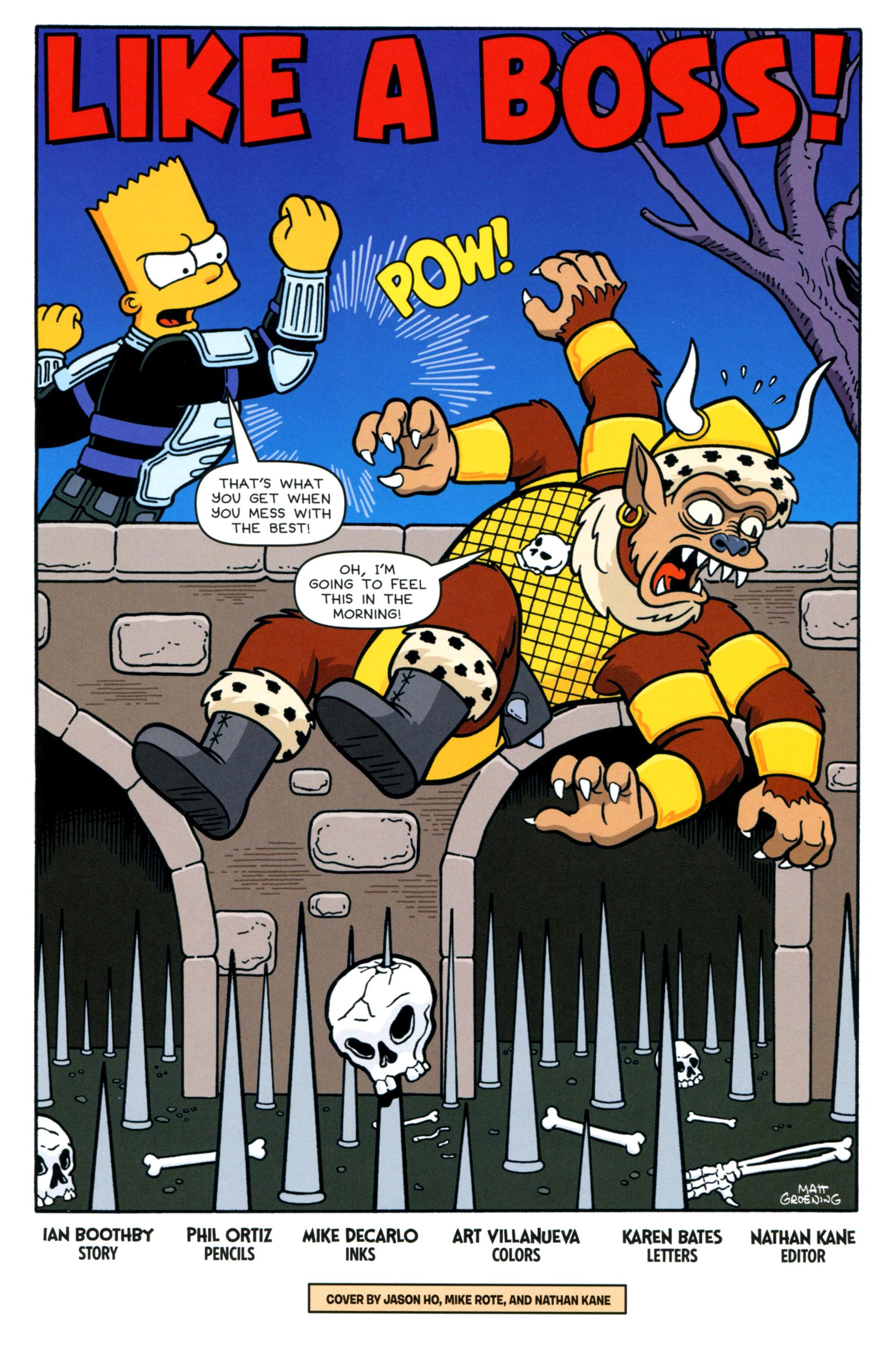 Read online Simpsons Comics comic -  Issue #202 - 3